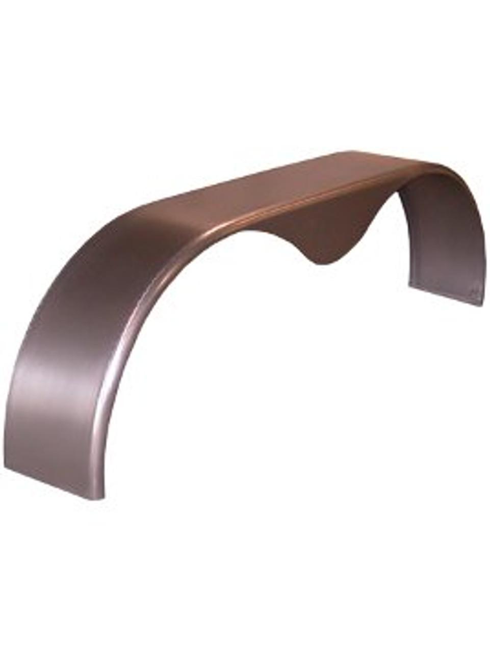 TTD2223-72 --- Tear Drop Tandem Fender - 16 gauge steel