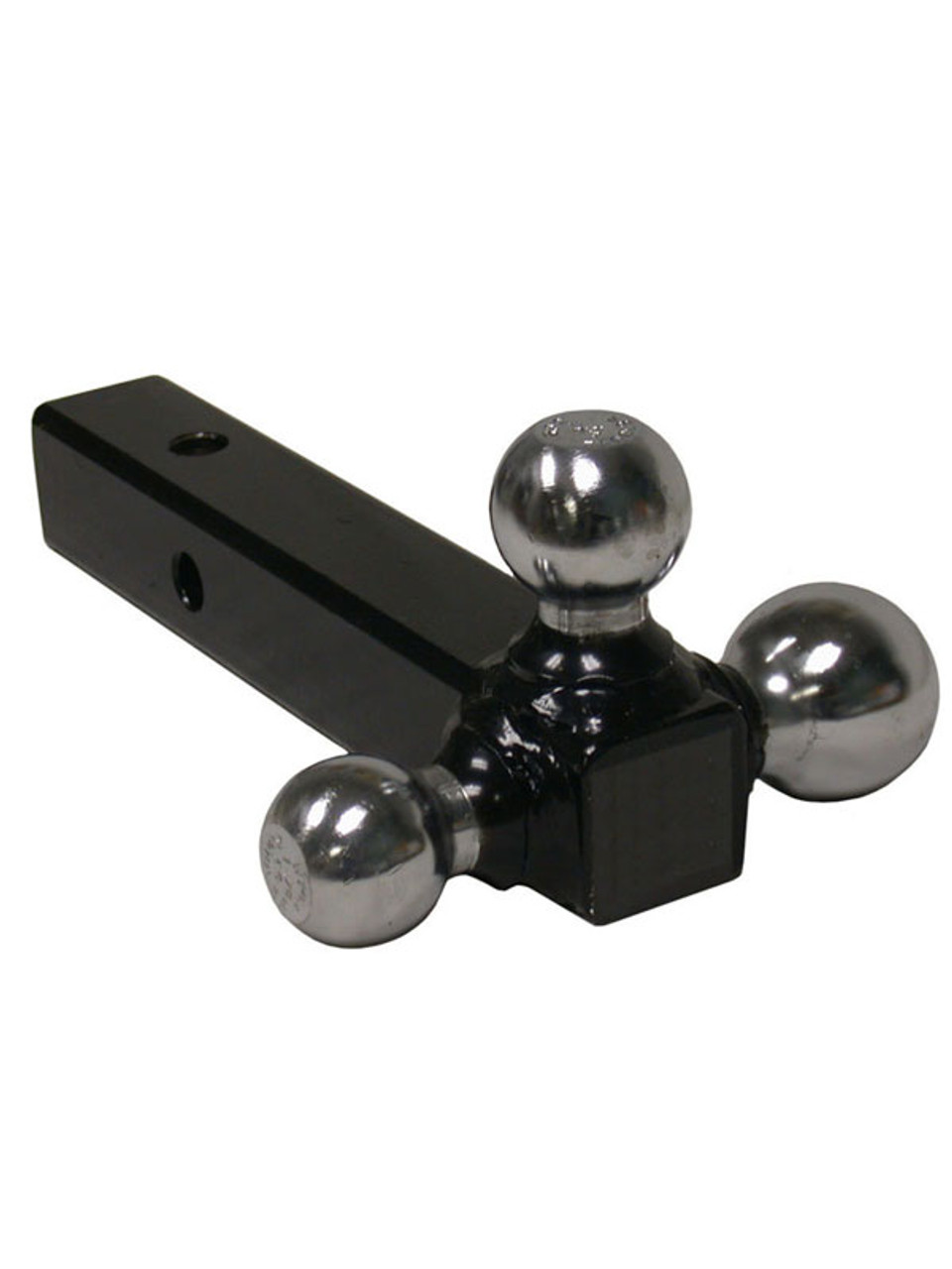 "TBM12 --- Tri-Ball Combination for 2"" Receivers with welded Chrome Hitch Balls"