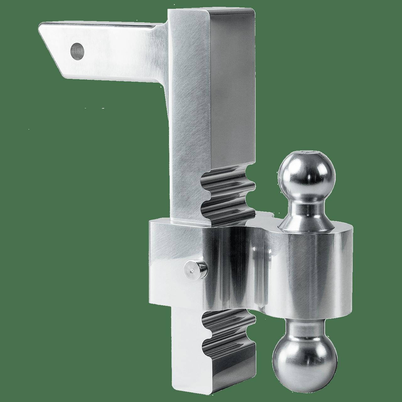3413 --- Rapid Hitch Adjustable Aluminum Double Ball Mount
