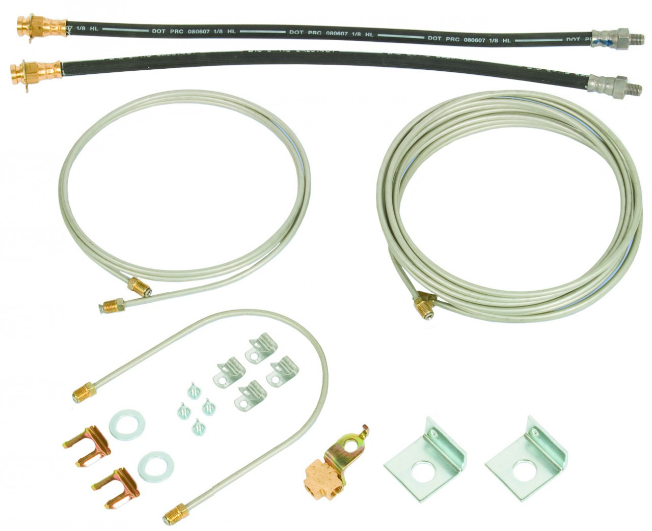 80883 --- Hydraulic Brake Line Kit for Torsion Single Axle Trailer