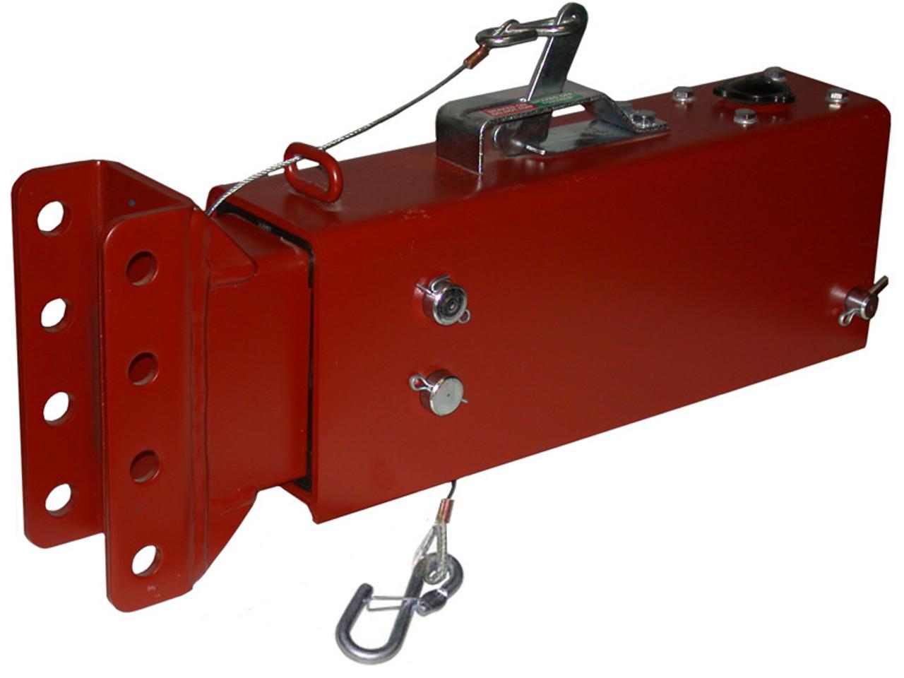 DA1002 --- Demco Hydraulic Brake Actuator with Centered Channel - 12,500 lb Capacity - Model DA10