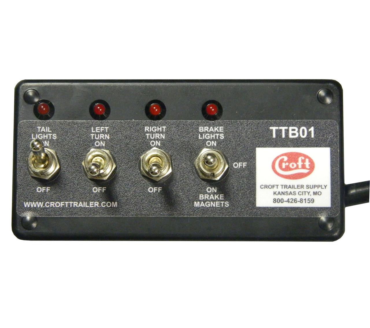 trailer test box croft ttb01 trailer lighting test equipment
