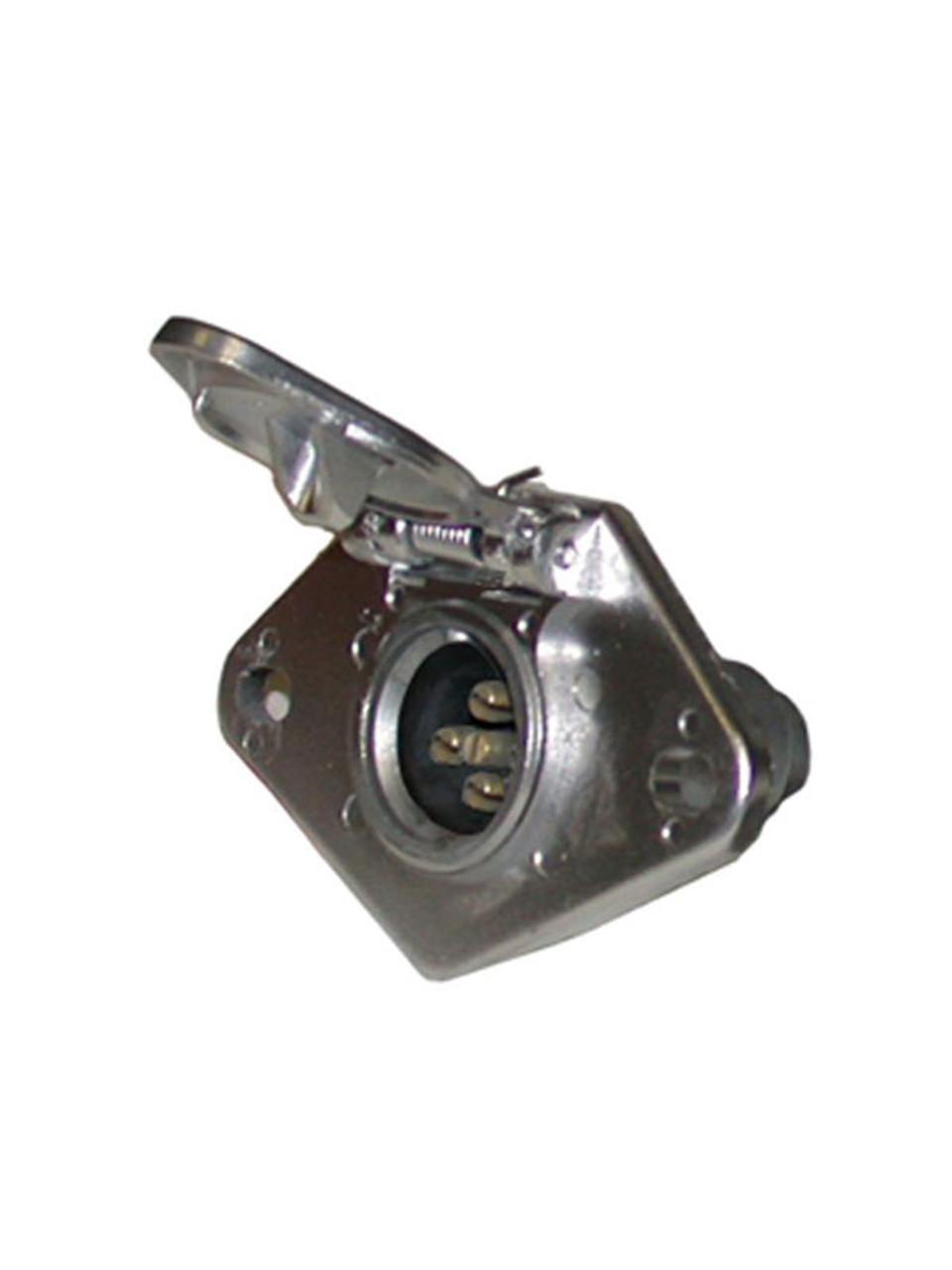 602S-M --- 6-Way Round Socket
