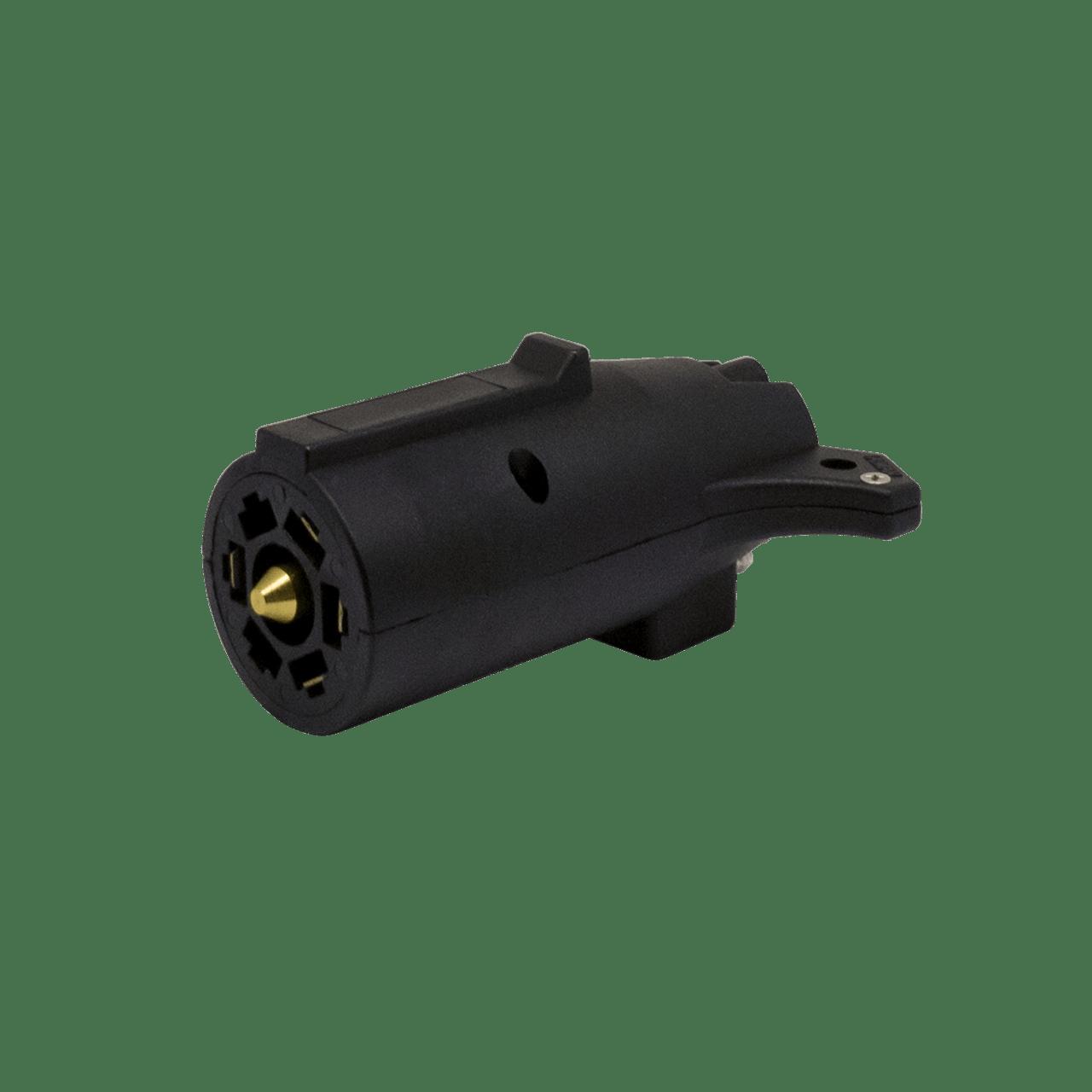 77P5F --- 7-Way Flat Pin to 5-Prong Flat Adapter