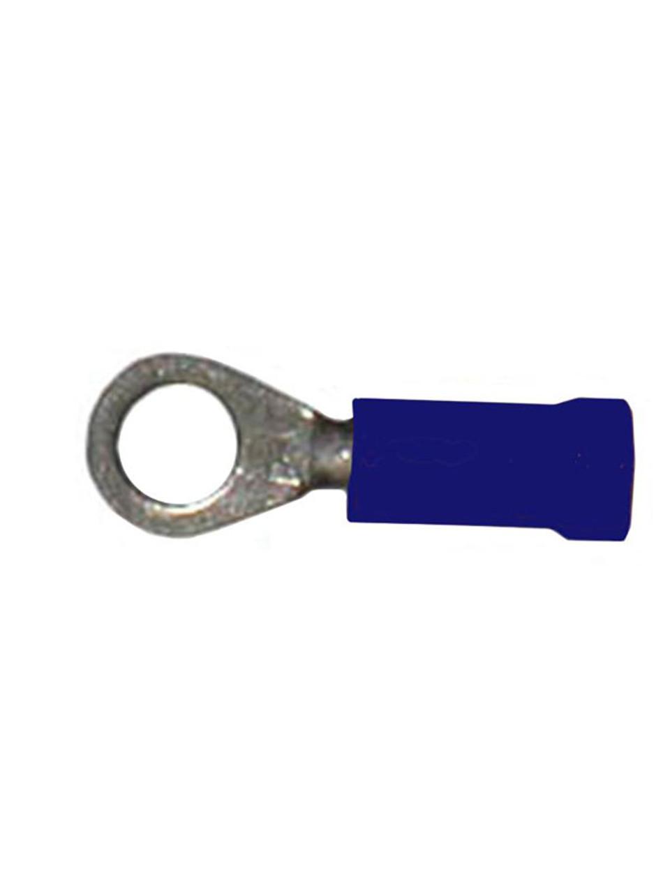 "BR-14 --- Blue Ring 1/4"" Terminal"