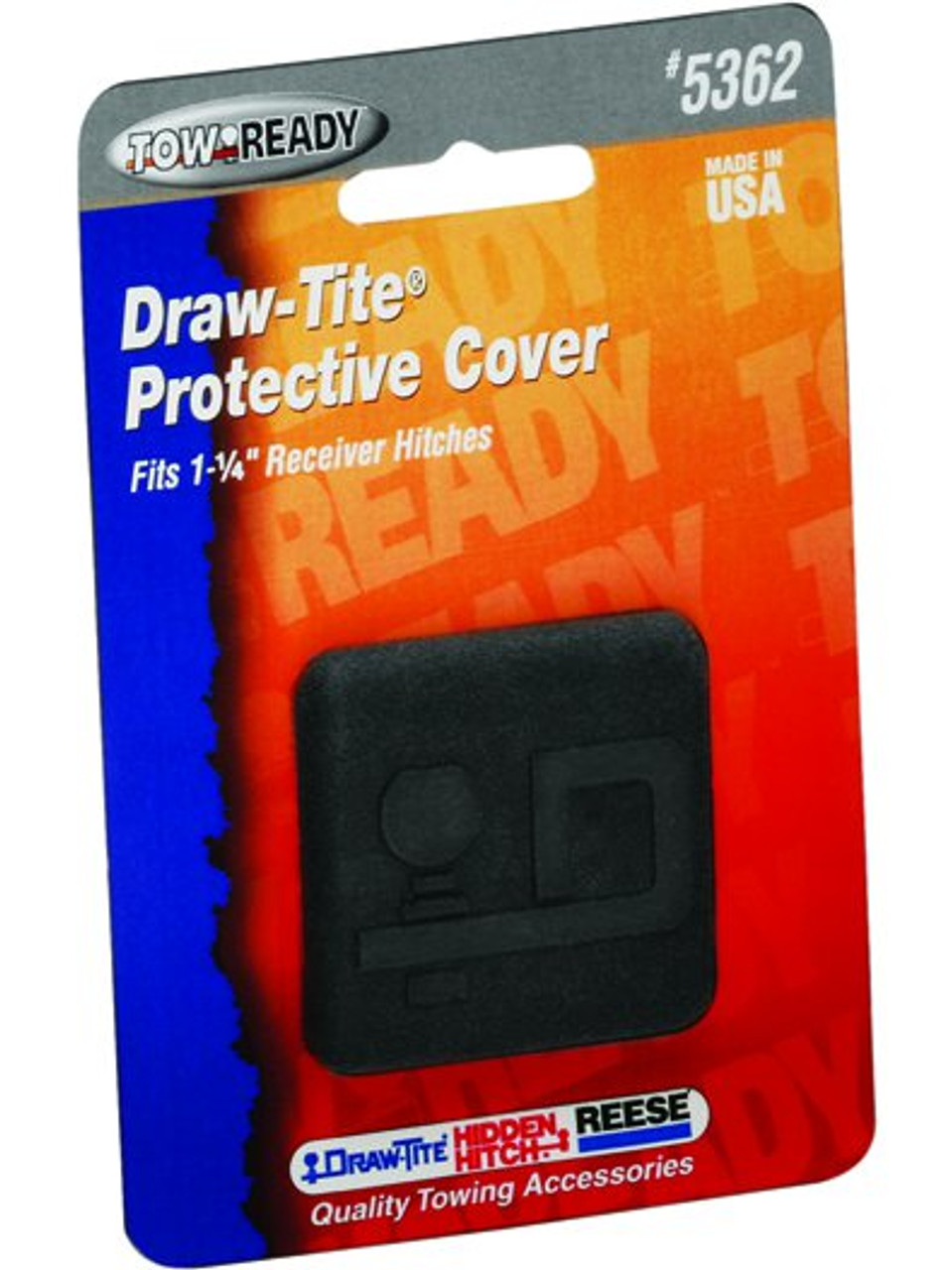 5362 --- Black Rubber Hitch Tube Cover