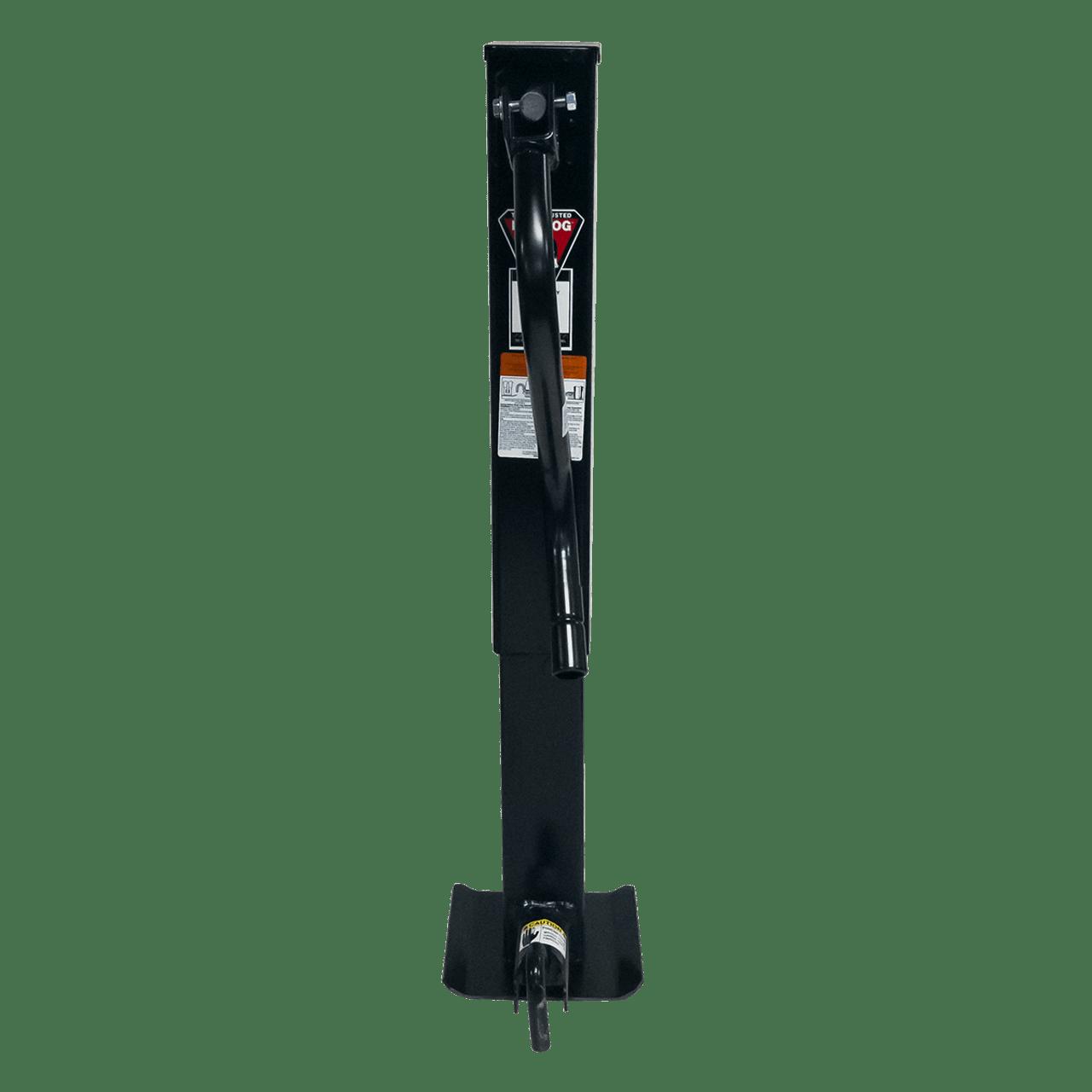 182400SL --- BULLDOG Drop Leg Sidewind Trailer Jack - 10,000 lb