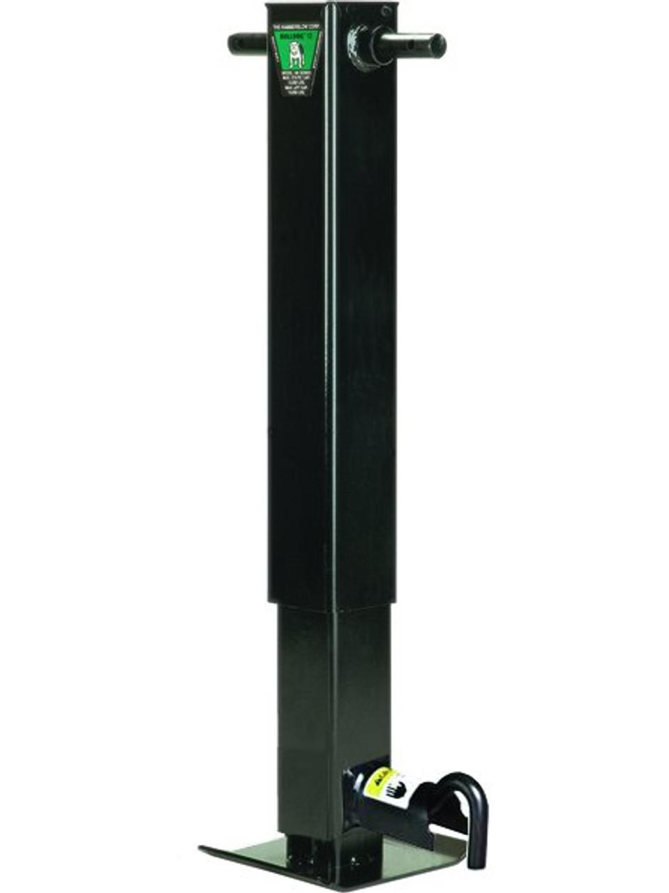182805 --- BULLDOG Companion Jack for Two Speed Drop Leg Trailer Jack - Pin to Side - 10,000 lb