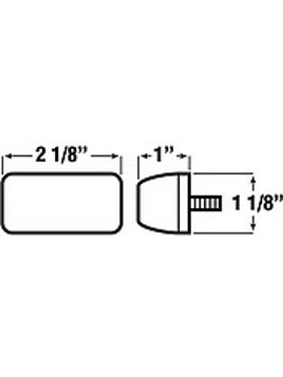 151R --- Mini-Light Clearance/Side Marker Light - Submersible