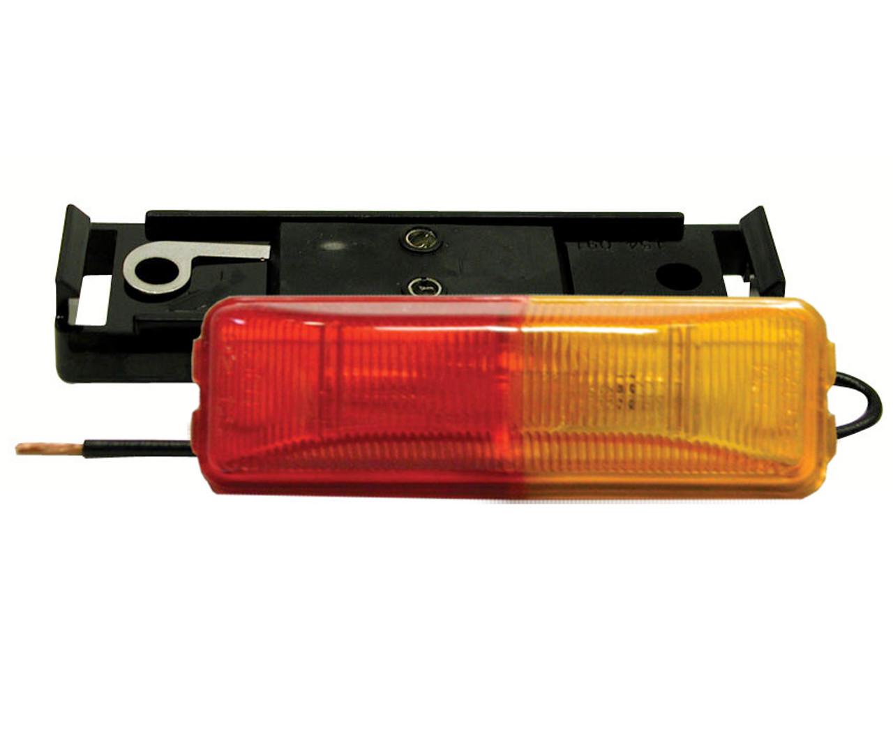 154KA-R --- Rectangular Sealed Fender Mount Clearance Light Kit