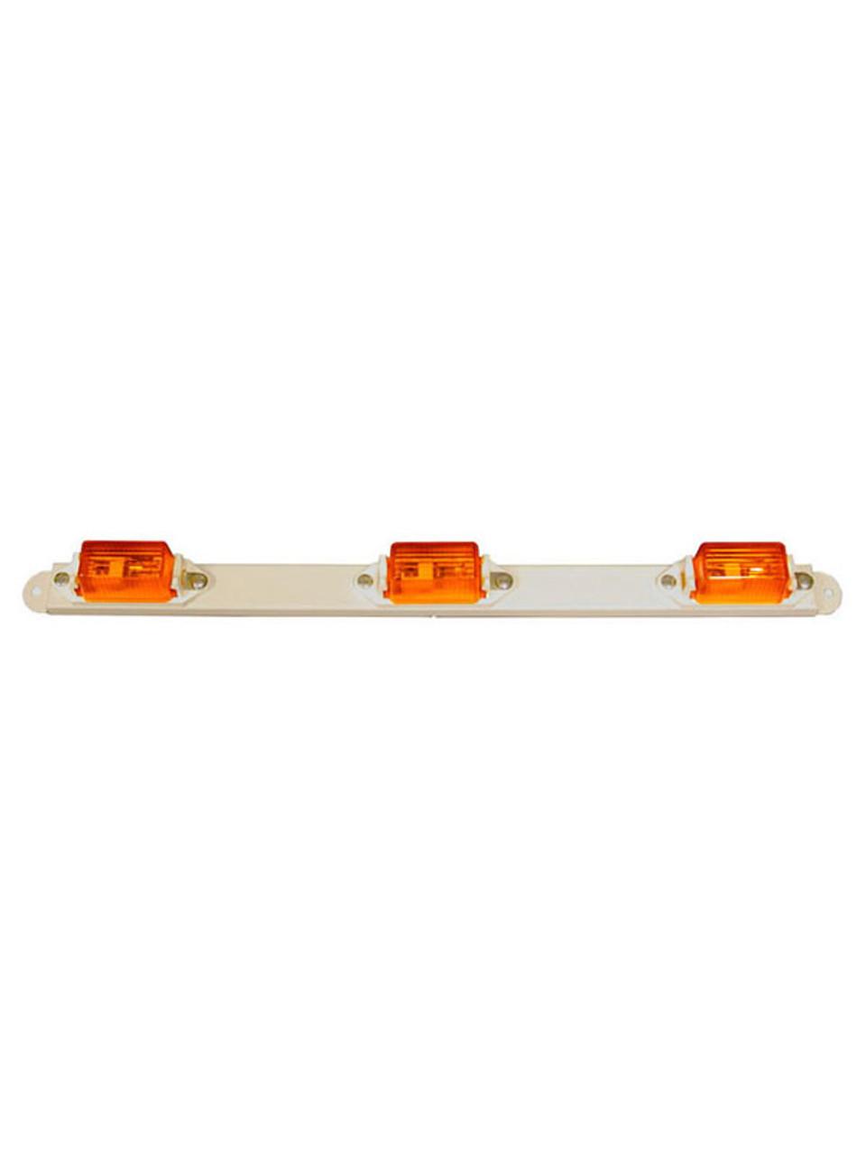 107-3A --- Amber Mini-Light Identification Light Bar