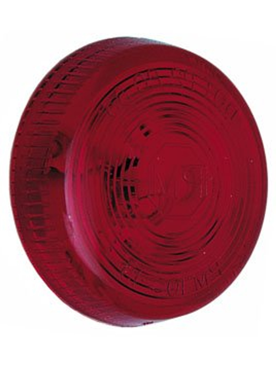 102-15R --- Peterson Replacement Red Round Lens