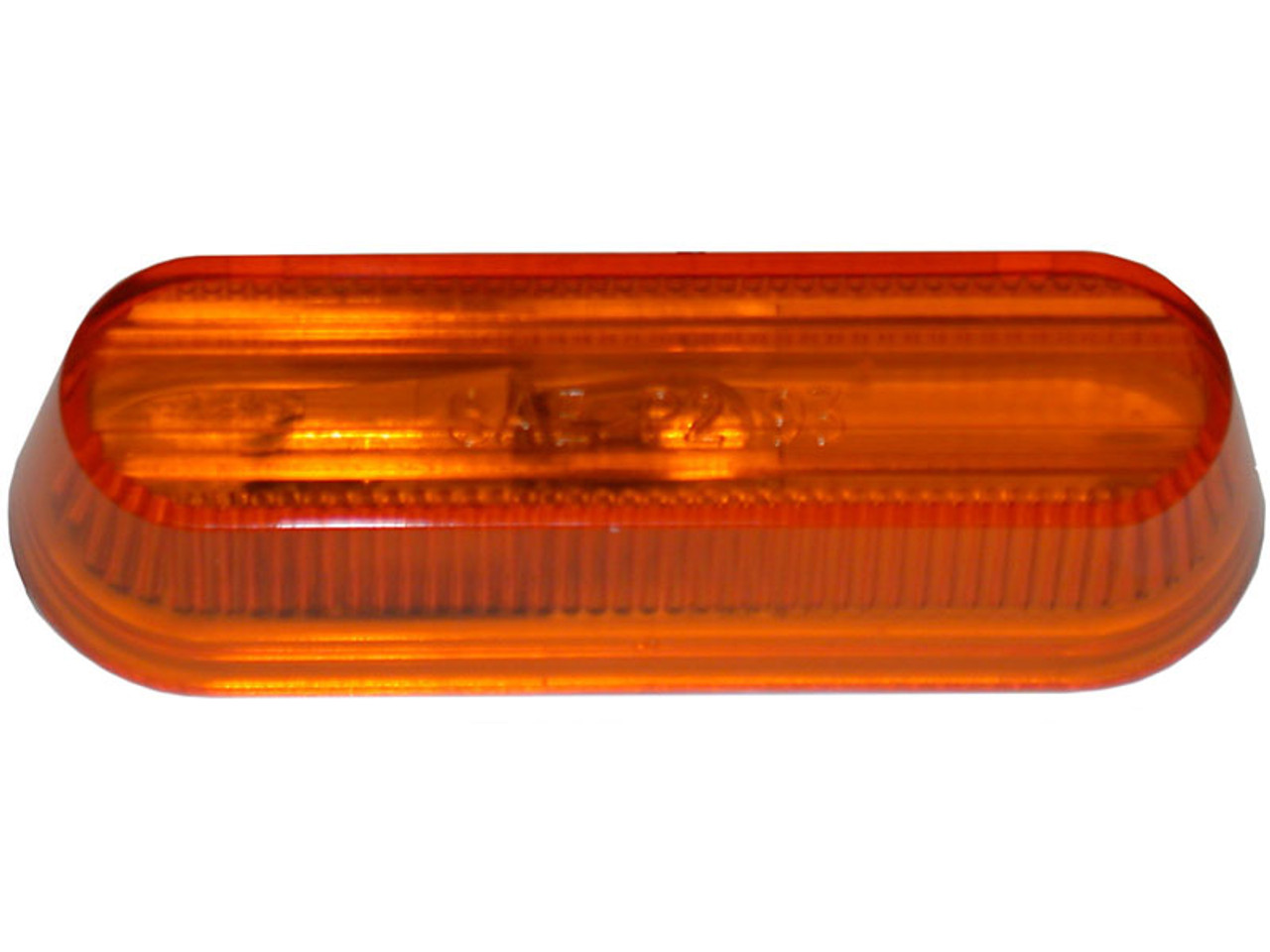 136-15A --- Peterson Replacement Amber Oblong Lens