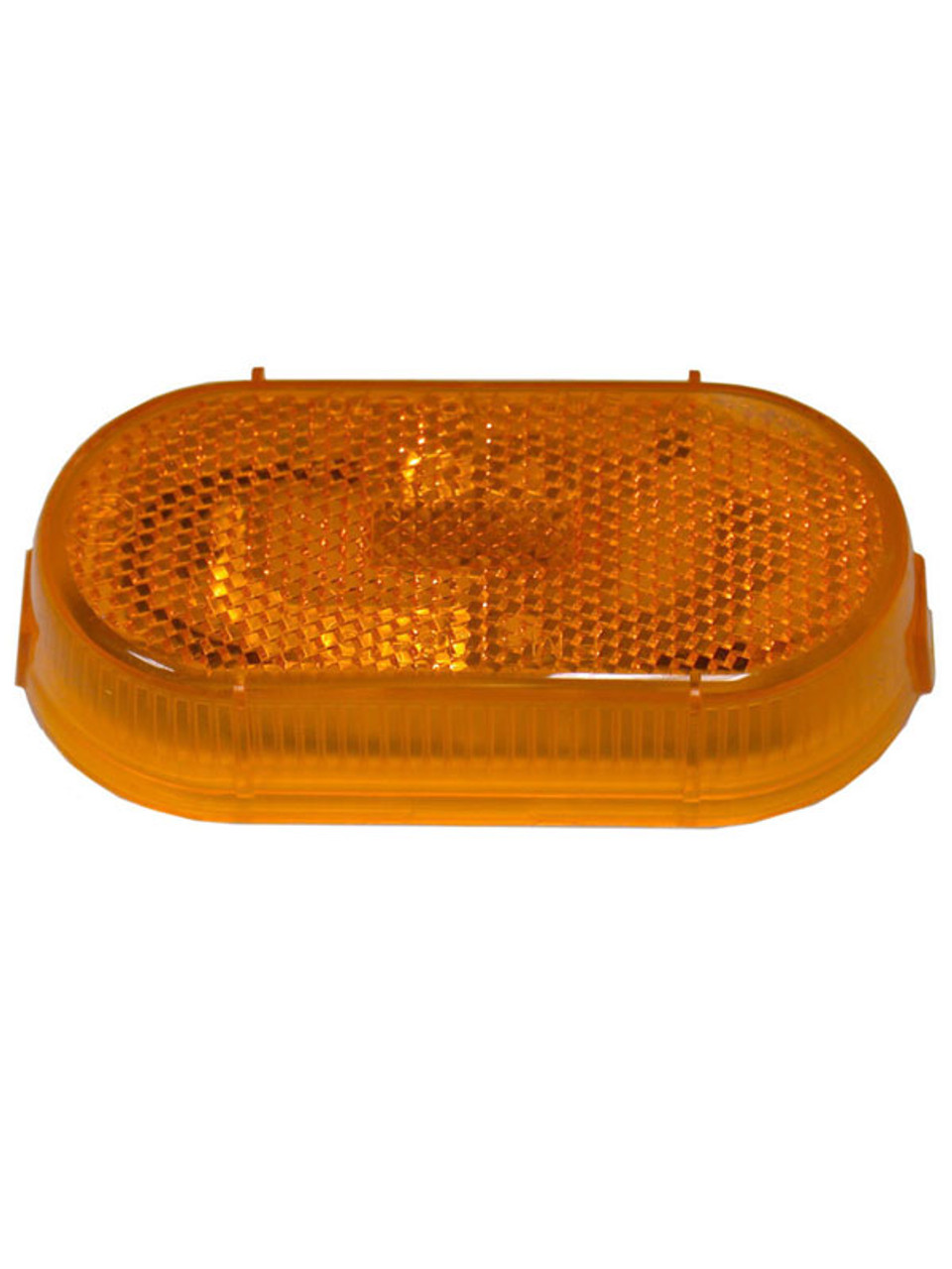 108-15A --- Peterson Replacement Amber Oblong Lens with Reflector