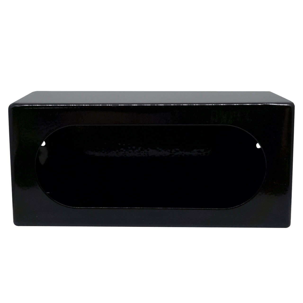 LB383SL --- Black Oval Tail Light Guard Box  with Side Light