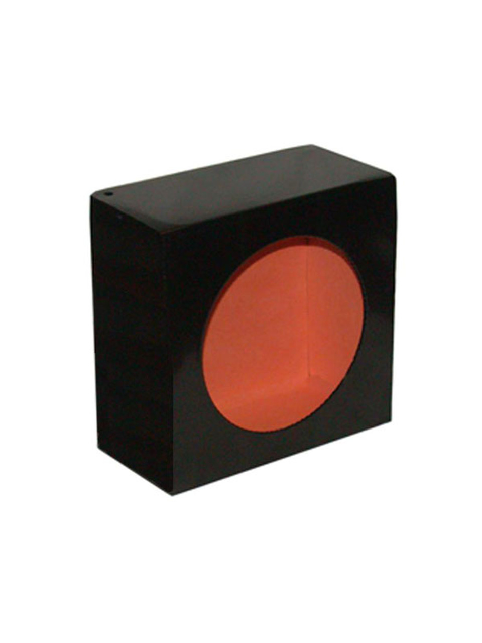 LB663 --- Black Round Tail Light Guard Box