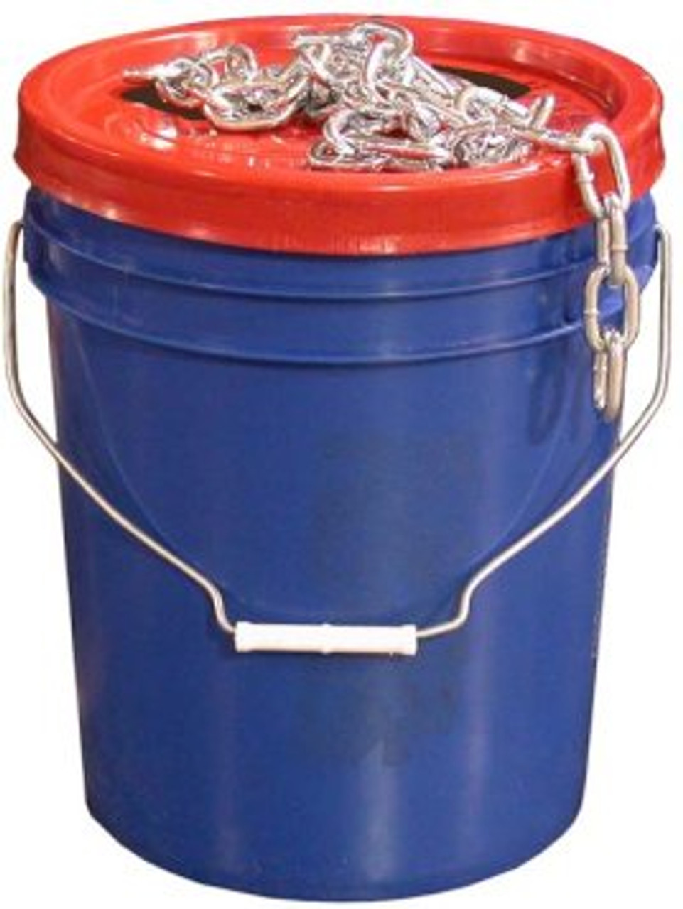 "CHP14PAIL --- Bucket of 1/4"" Proof Coil Safety Chain - 141' Length"