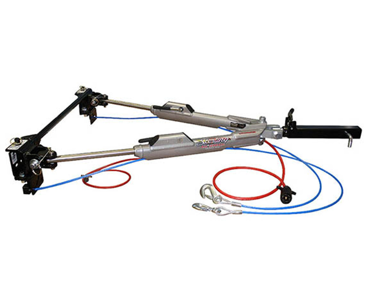 576 --- Roadmaster Sterling All Terrain 8,000 lb Capacity Folding Tow Bar with 6-Wire Electrical Wire and Safety Cables