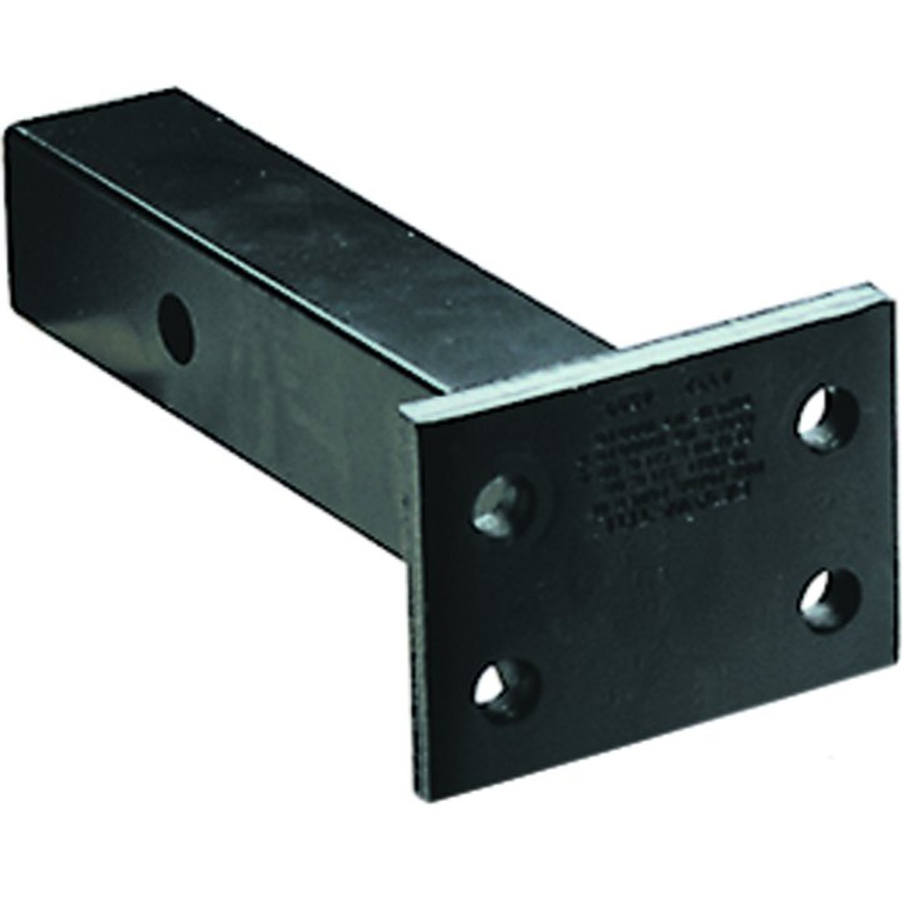 """4330 --- 2"""" Receiver Mounted Pintle Hook Adapter - 4 Holes - 20,000 lb Capacity"""