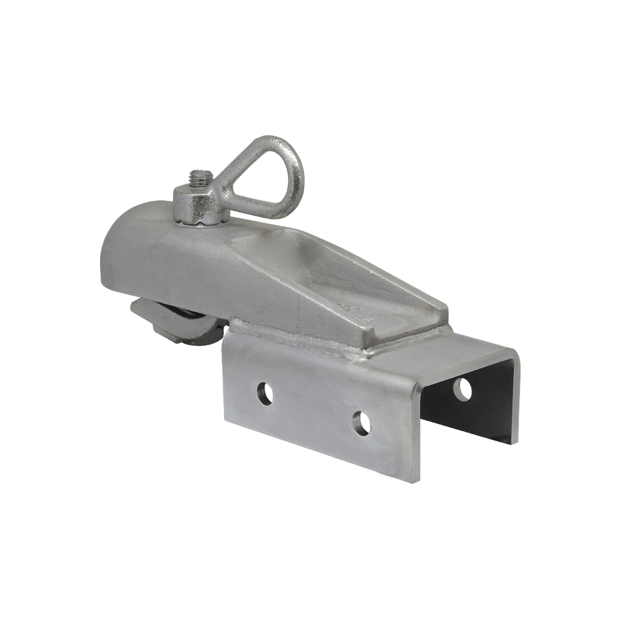 "H3BOS --- CROFT Coupler with N-3 Loop Nut, Saddle Coupler fits 1-7/8"" or 2"" ball - 5,000 lb Capacity"