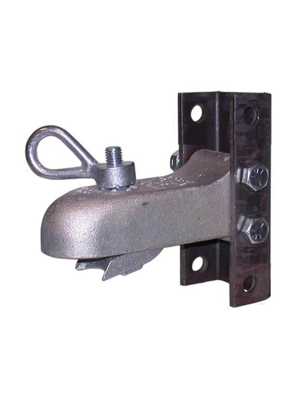 AH3-ASY --- CROFT Adjustable Coupler with N-3 Loop Nut with 4 Hole Channel - 7,000lb Capacity - 2""
