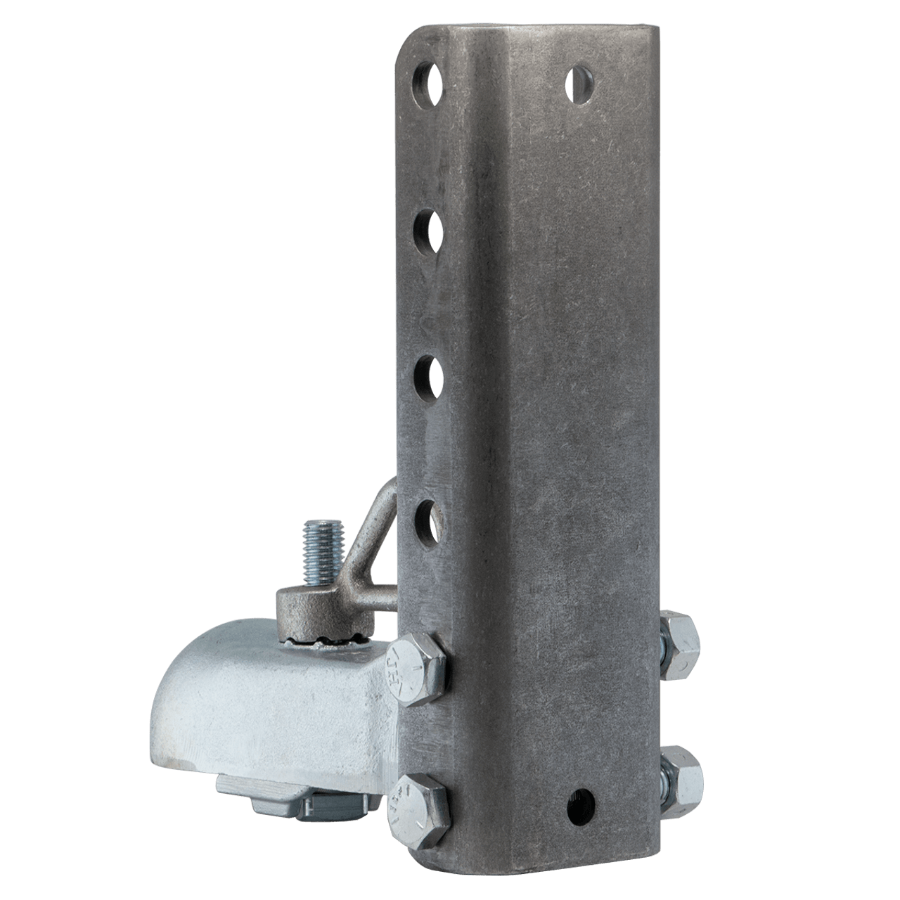 """AH3-6ASY --- CROFT Adjustable Coupler with N-3 Loop Nut and 6 Hole Channel - 7,000lb Capacity - 2"""""""
