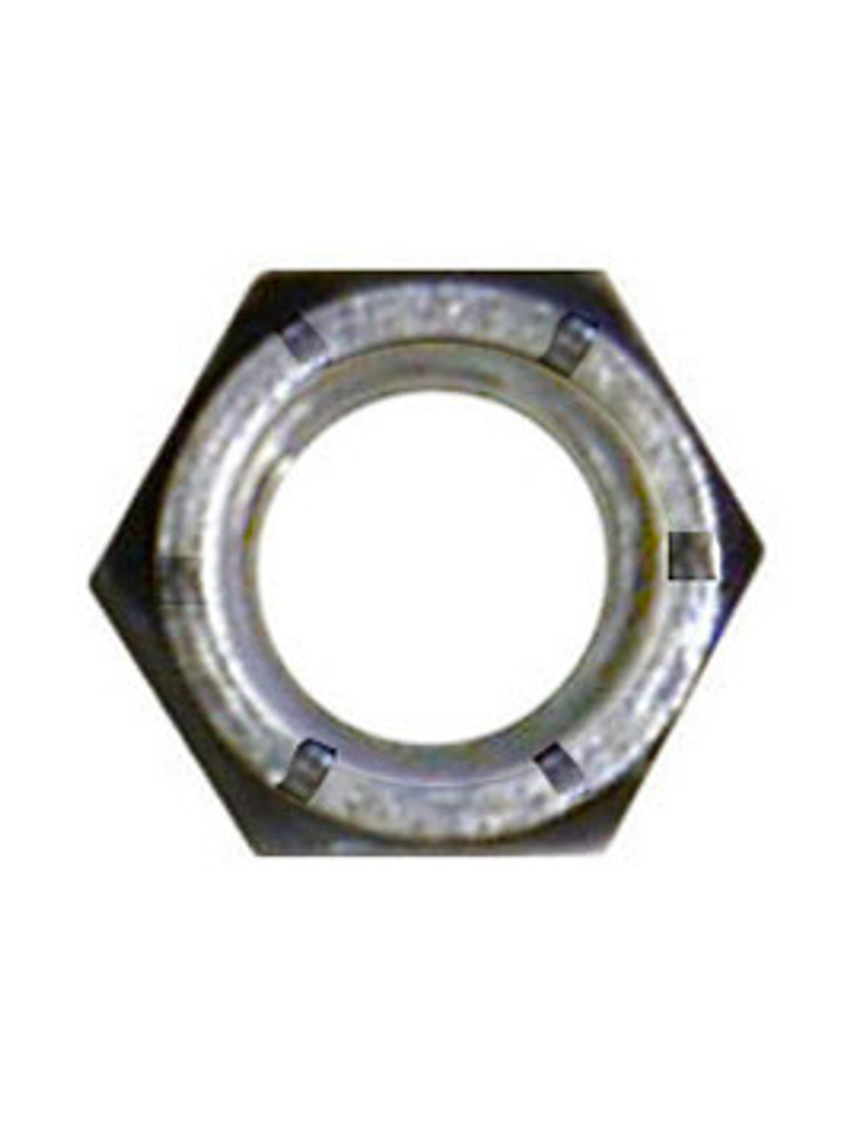 "NLN38G8ZC --- 3/8"" Lock Hex Nut"