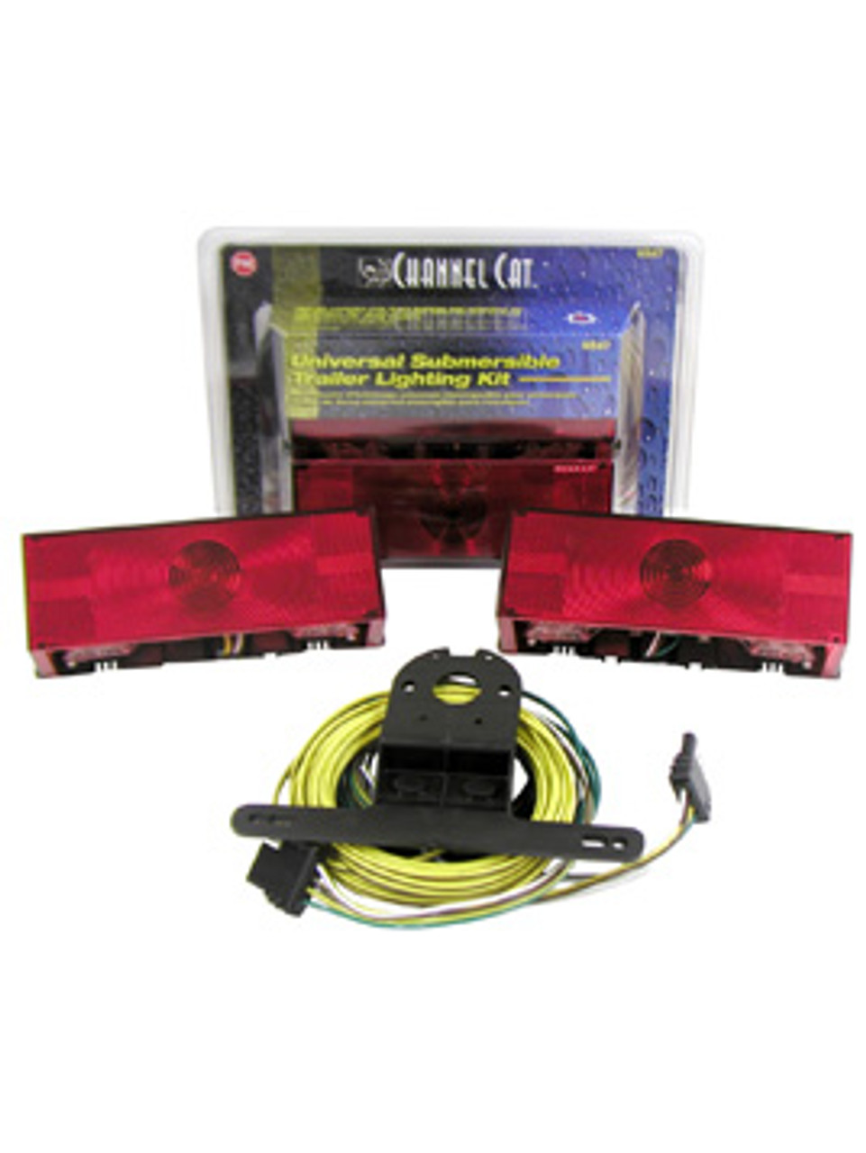 """547 --- Submersible Rear Trailer Light Kit - For Over 80"""" Wide Trailers"""
