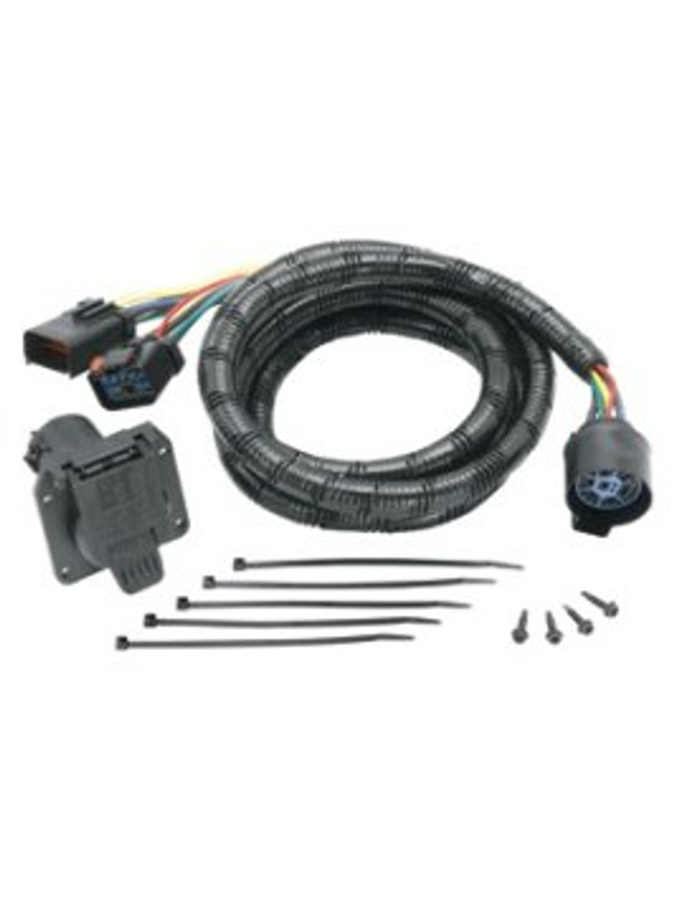 20111 --- Tow Ready® 5th Wheel Adapter Harness - 7-Way Flat Pin U.S. Car Connector Assembly 7'