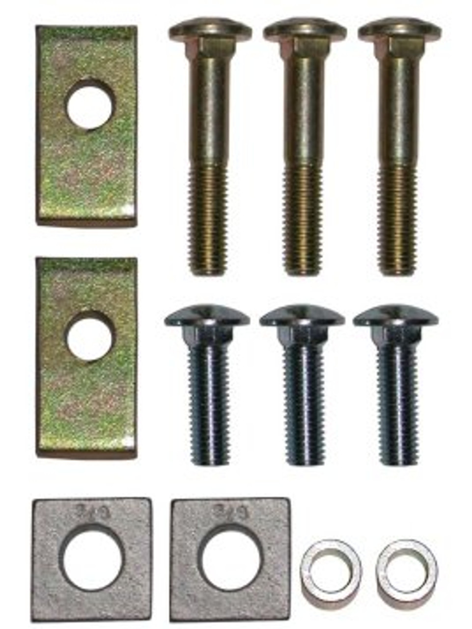 58309 --- 5th Wheel Trailer Hitch Spacer Kit for 2007-2019 Toyota Tundra - Required Kit for Installation