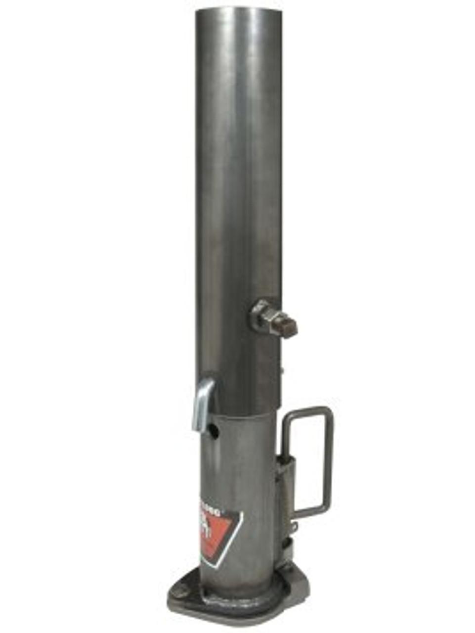 "HB844ADJ --- BULLDOG Gooseneck Coupler  with Adjustable 29"" -  37"" Pipe - 20,000 lb Capacity"
