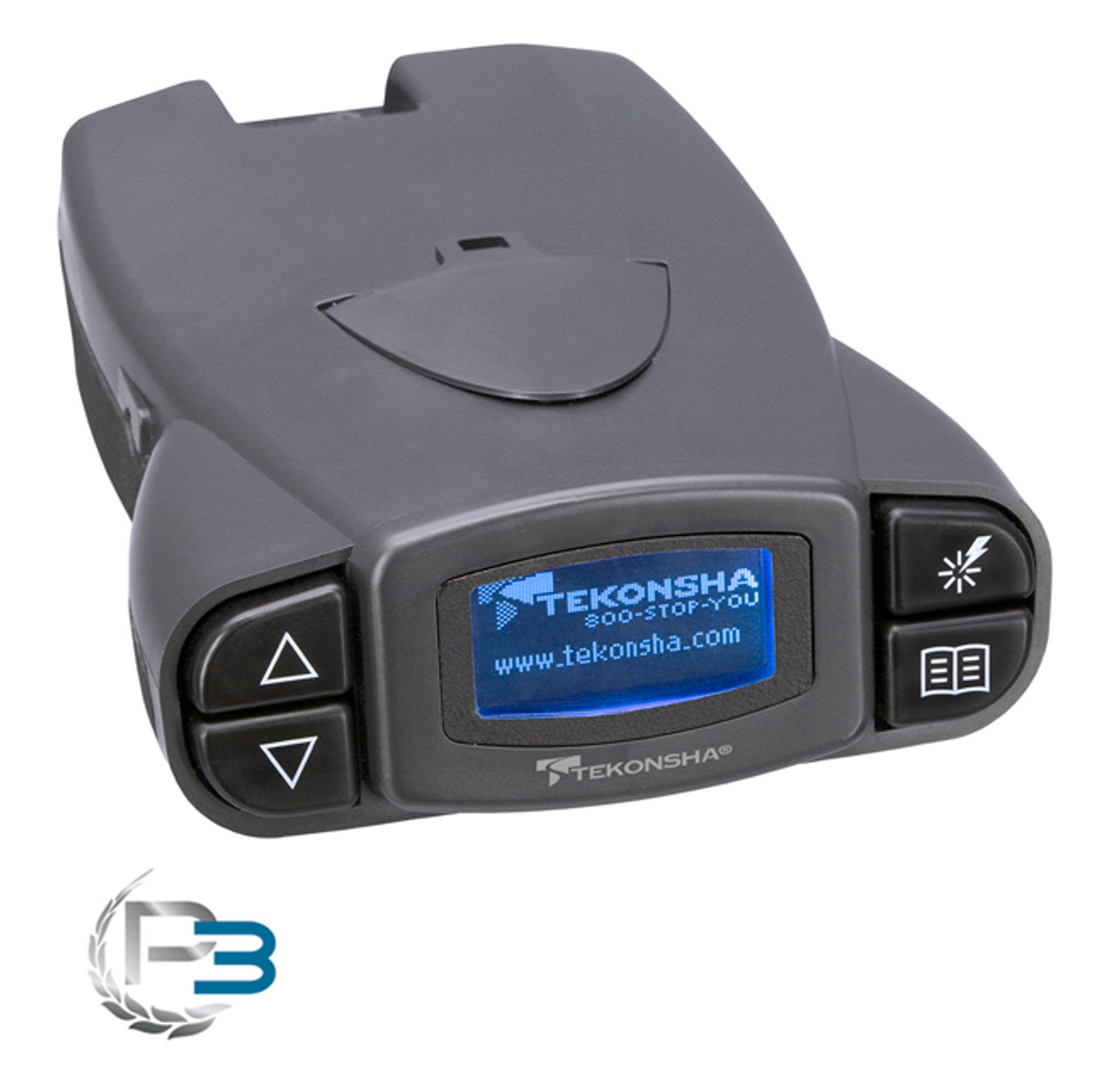 Tekonsha Brake Controller >> 90195 Tekonsha P3 Brake Controller 2 4 6 8 Brake Systems