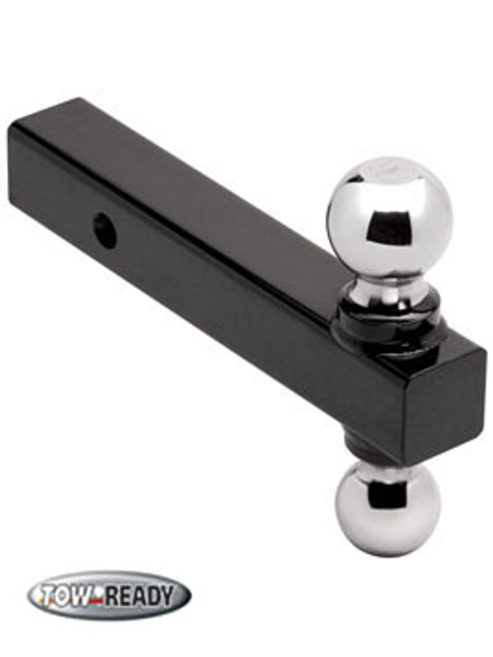 """CB1802215 --- Ball Mount, Combination 2"""" and 2-5/16"""" Welded Chrome Hitch Balls, 16,000 lb Maximum Capacity"""