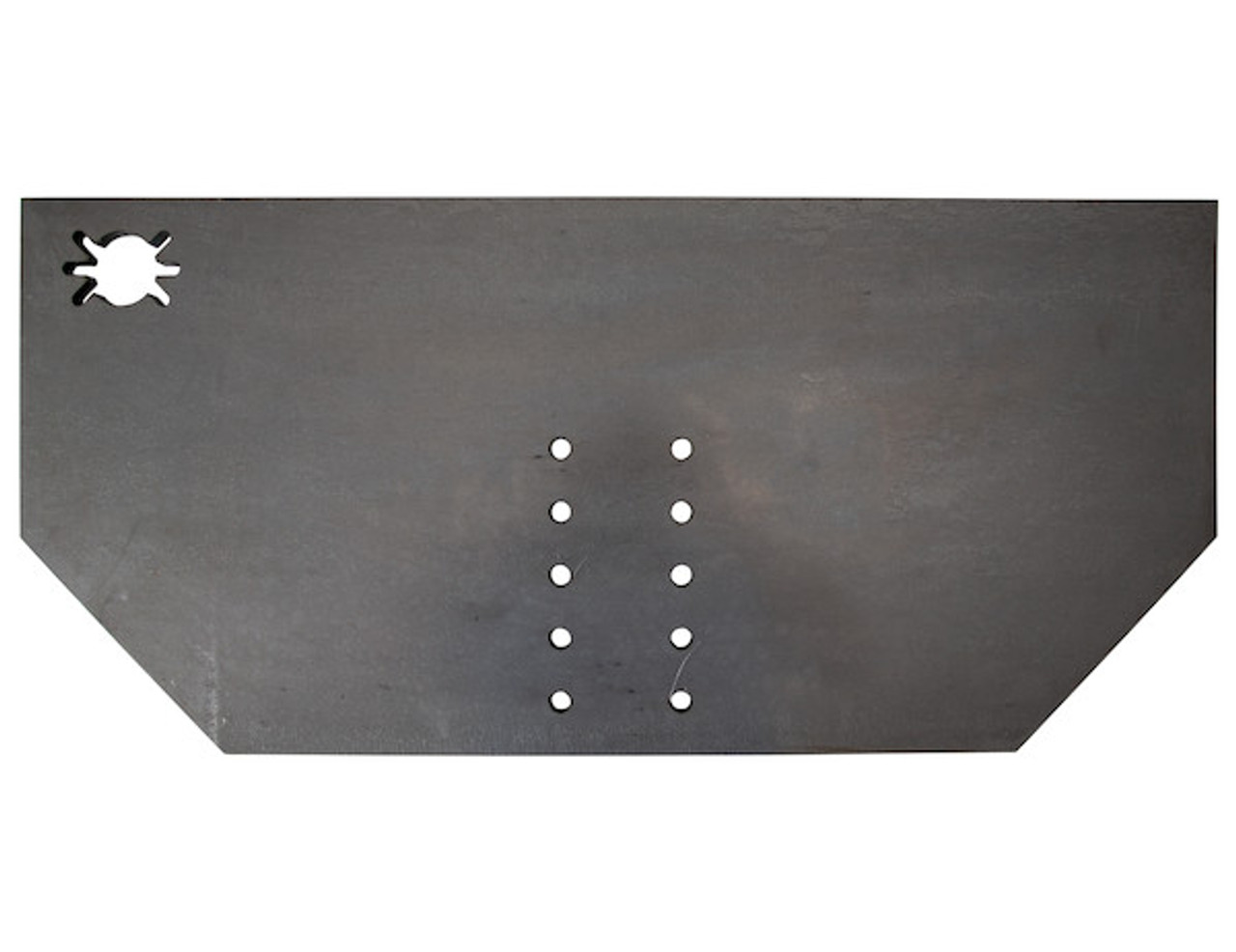 """1809040 --- 1/2"""" Fabricators Hitch Plate with Pintle Hook Mounting Holes"""