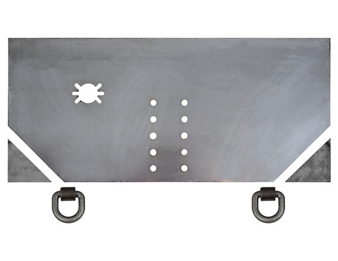 "1809042 --- 5/8"" Fabricators Hitch Plate with Pintle Hook Mounting Holes"