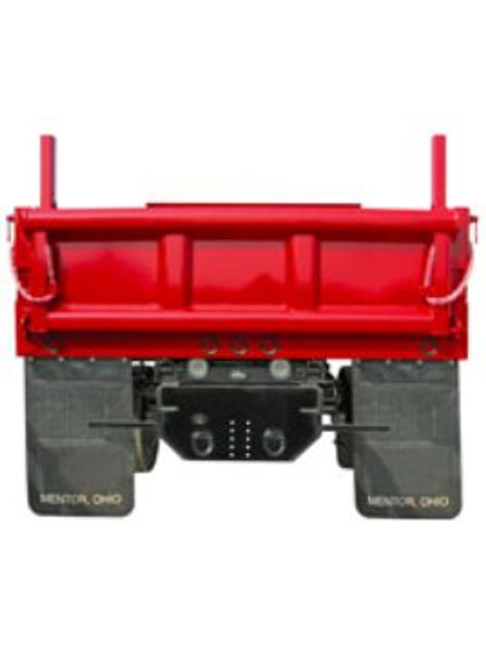 1809037 --- Hitch Plate with Pintle Hook Mounting Holes for Dodge/RAM with Side Channel