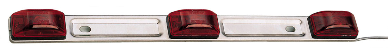 3306 --- Red Waterproof Sealed Identification Light Bar