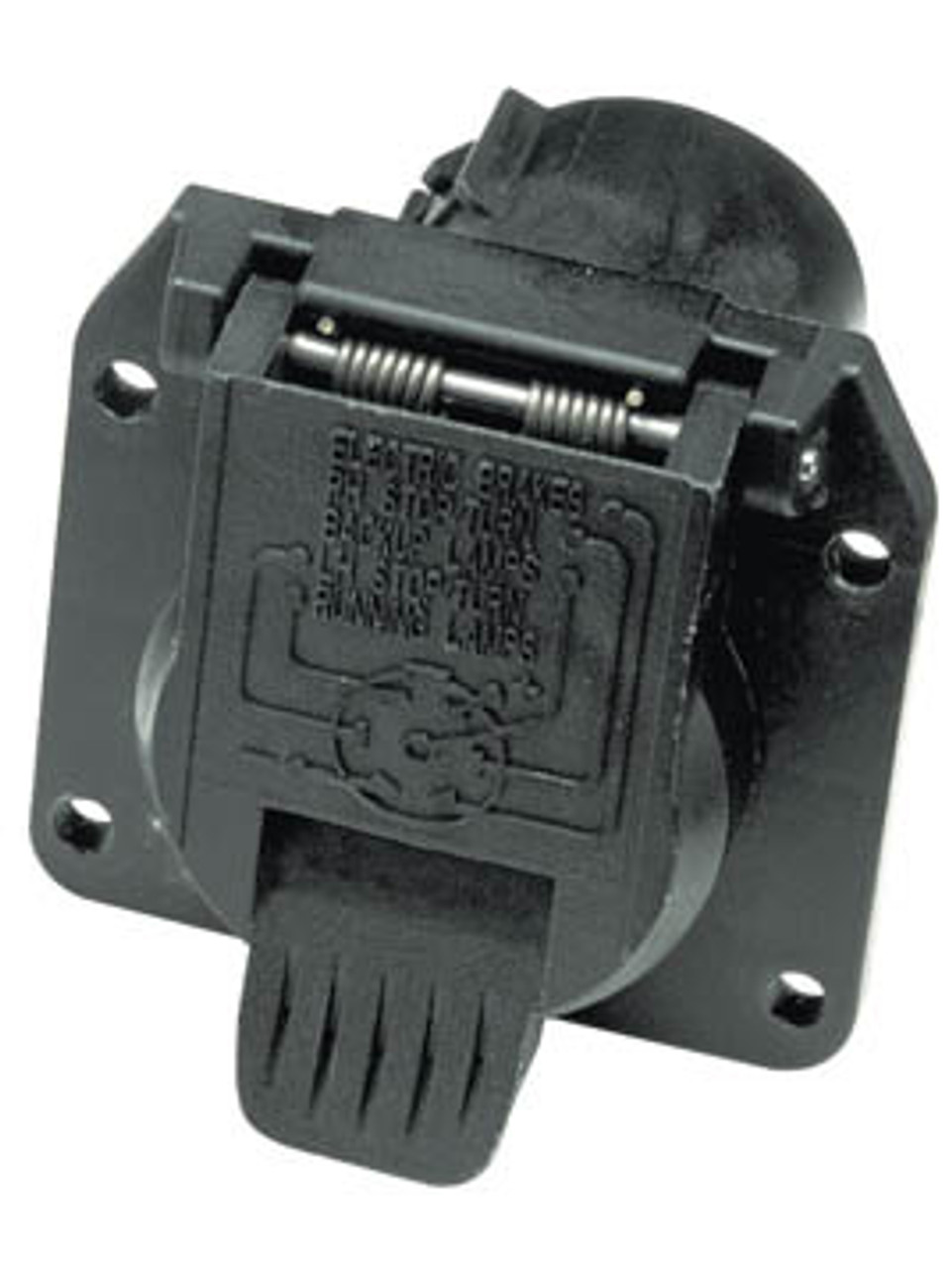 20015 --- 7-Way Flat Pin OEM Socket