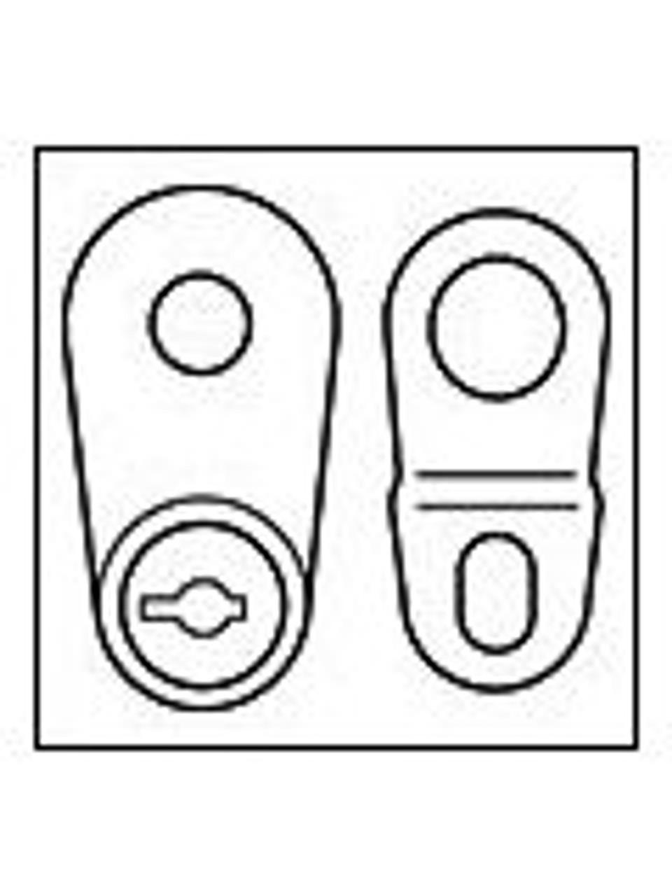 STL916ML --- Master Lock Spare Tire Lock