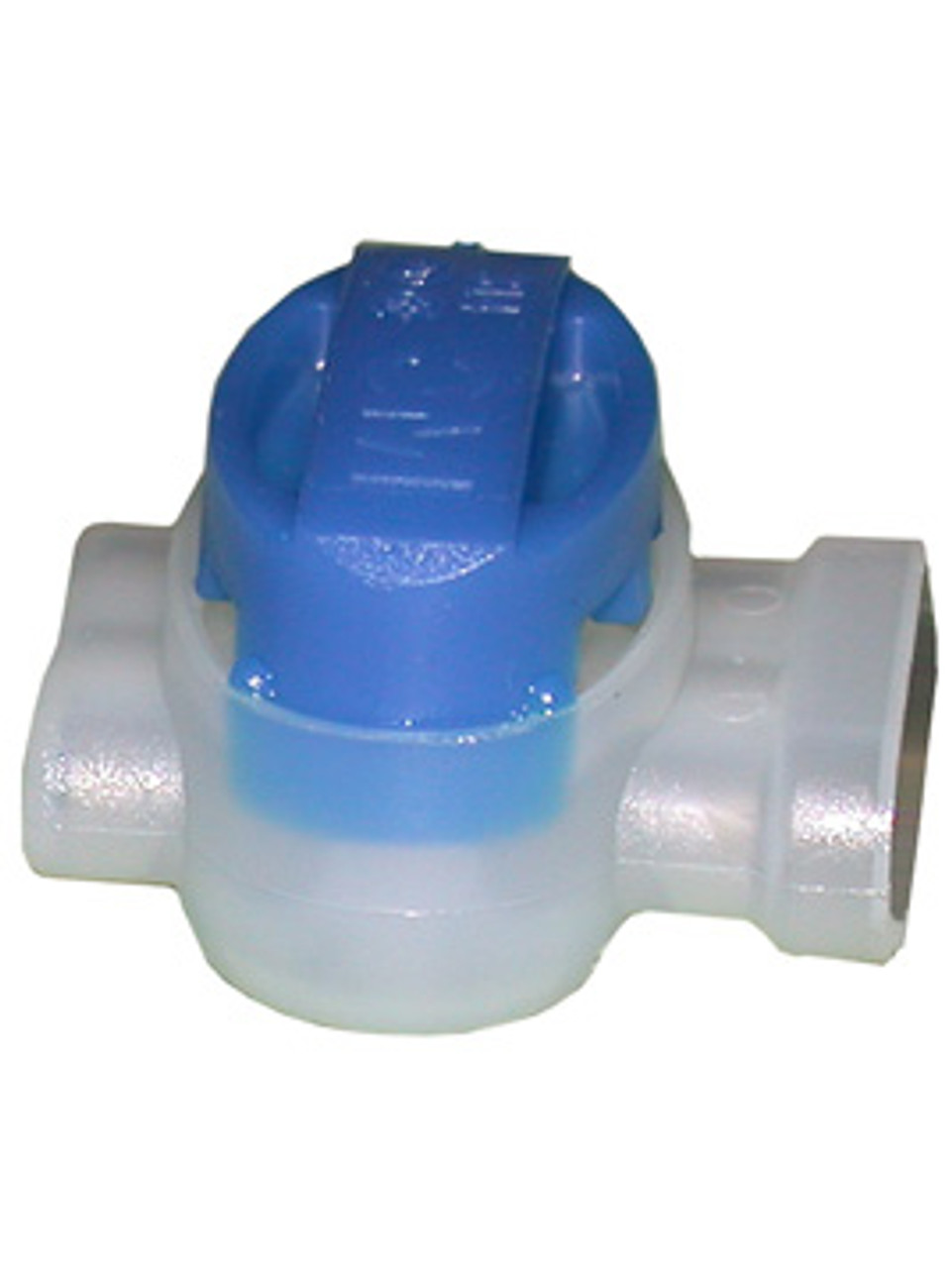 635 --- Blue Pigtail Connector with Sealant