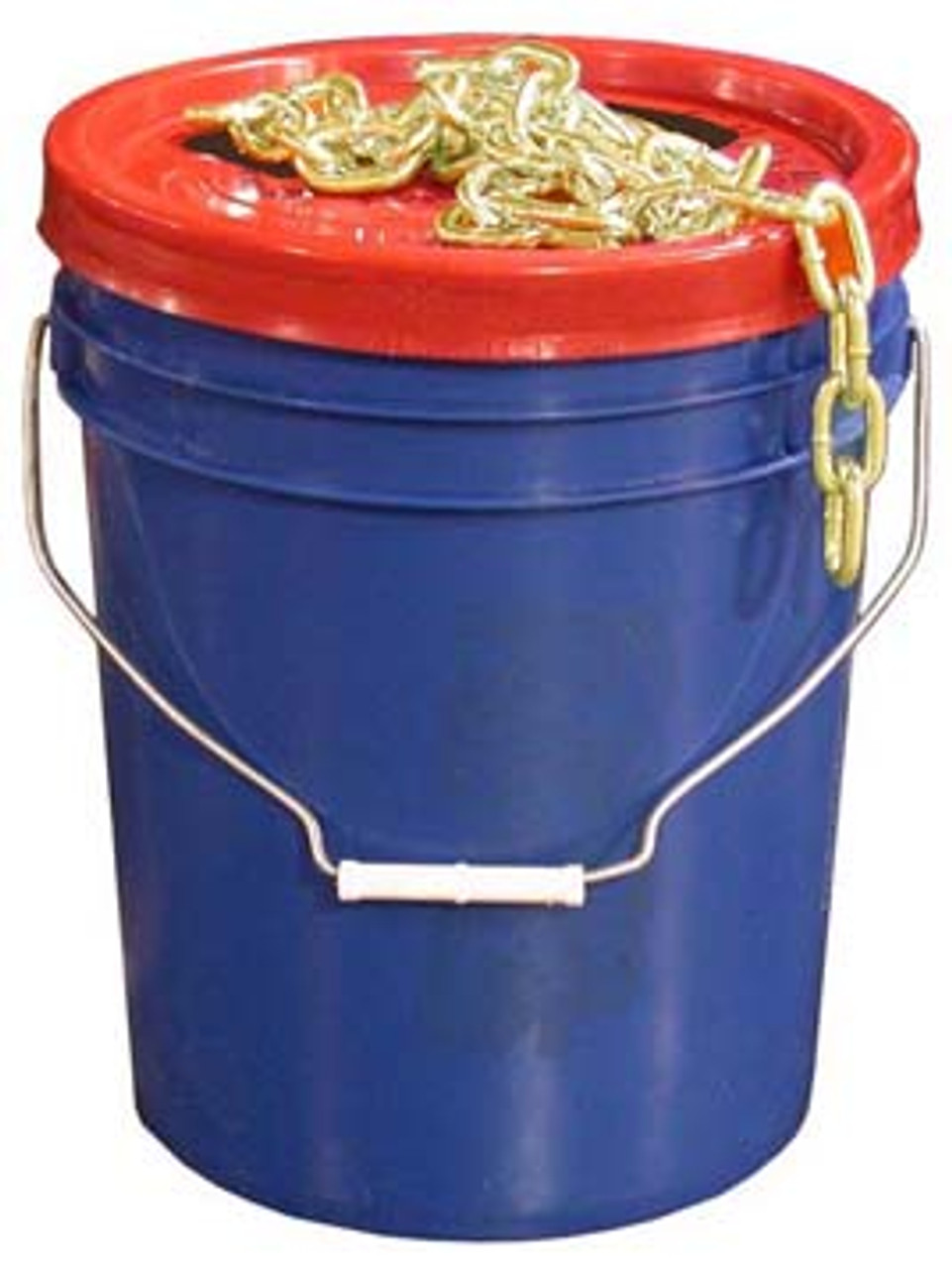 "CHP38G70PAIL --- Bucket of 3/8"" Grade 70 Transport Chain -75' Length"