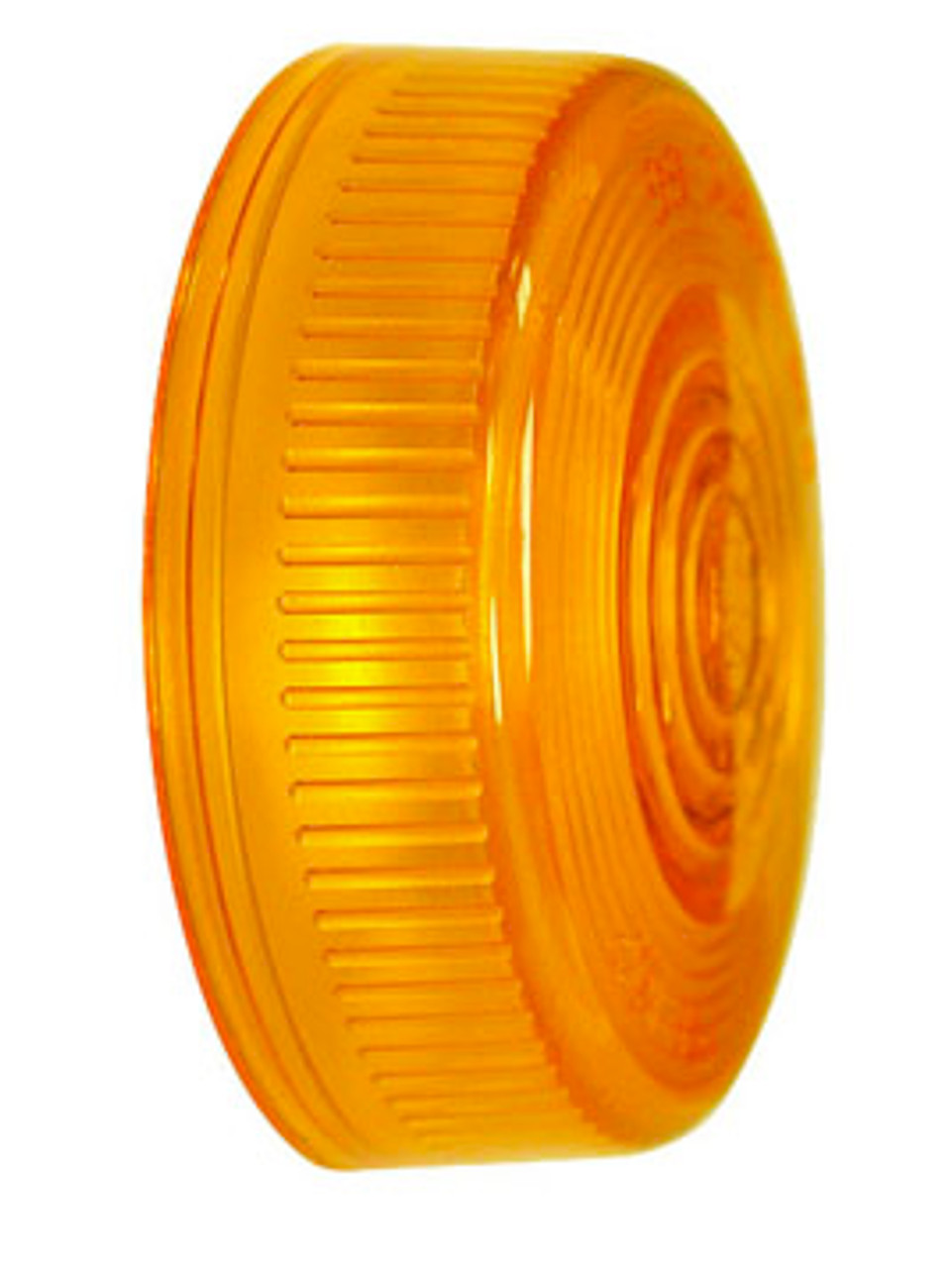 102-15A --- Peterson Replacement Amber Round Lens