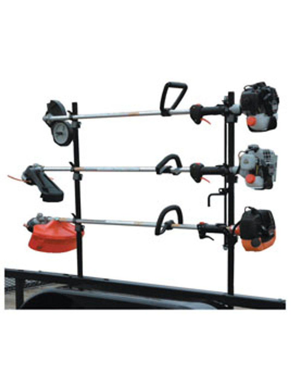 LT10 --- Lockable Three Trimmer Rack
