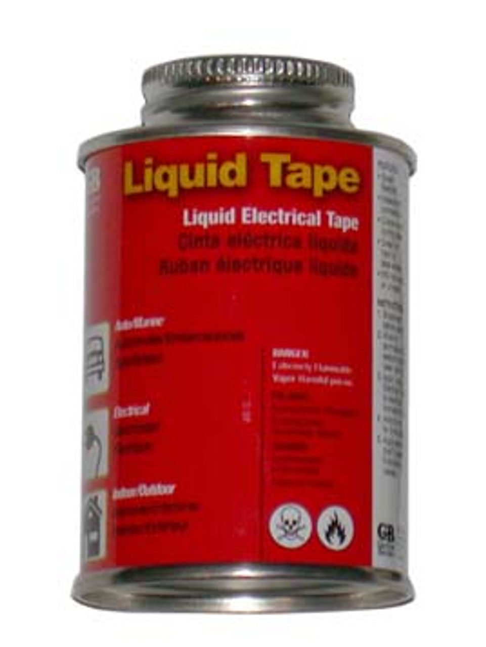 LTAPE --- Liquid Tape 4oz Jar; Black