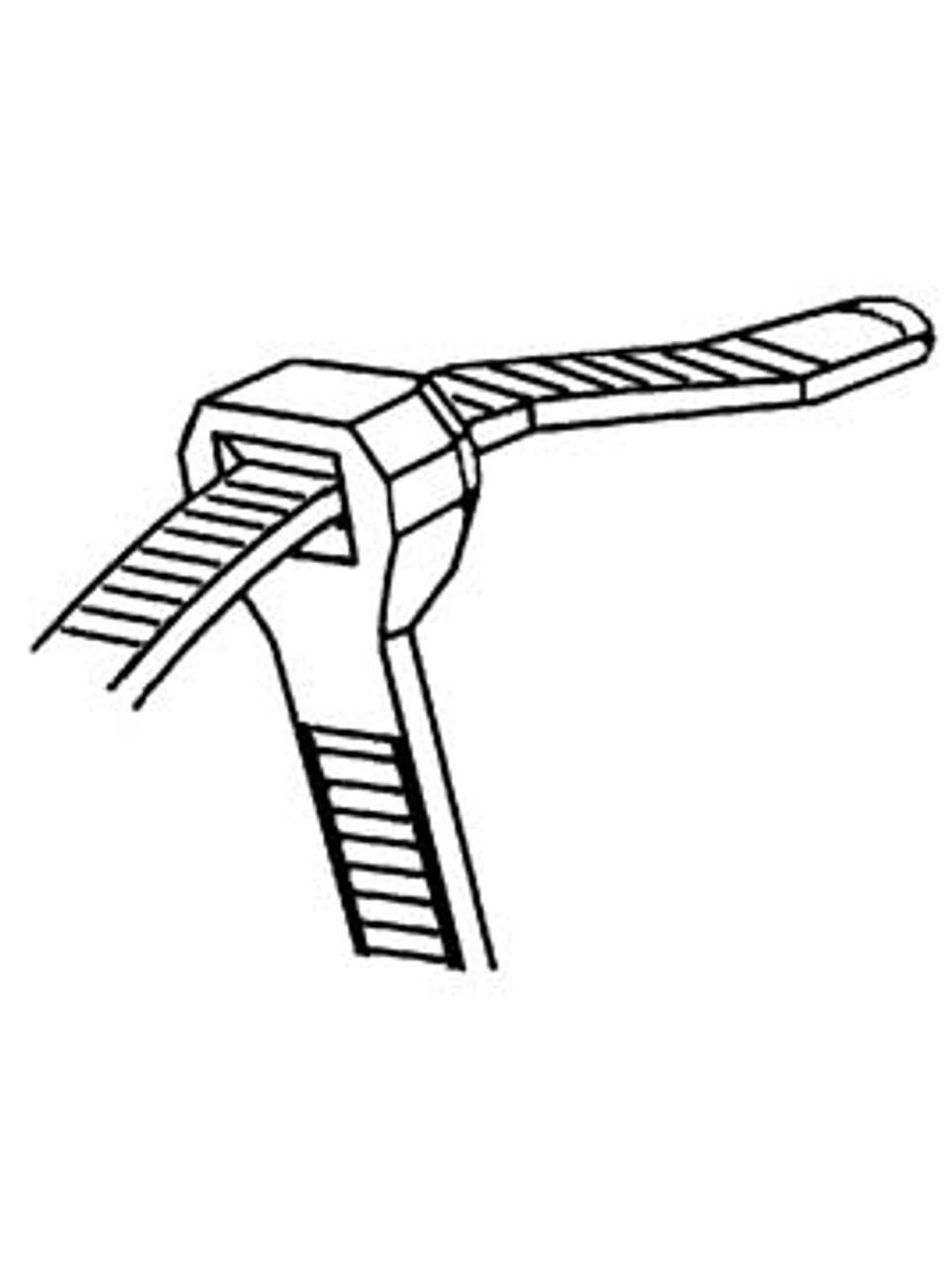 9753 --- Heavy Duty Nylon Cable Tie