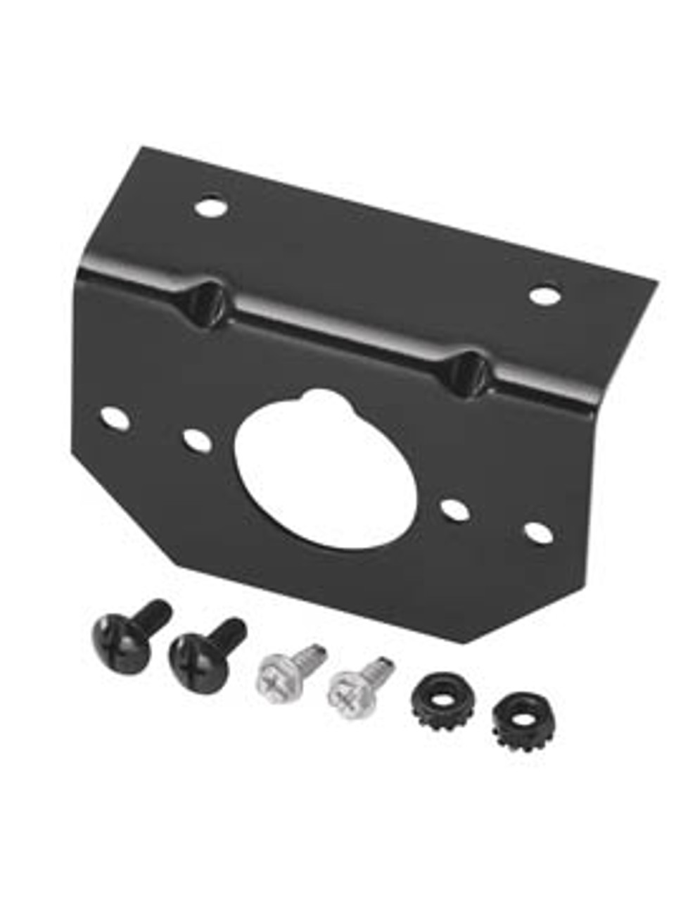 118137 --- Mounting Bracket for 4, 5 & 6-Way Round Connectors