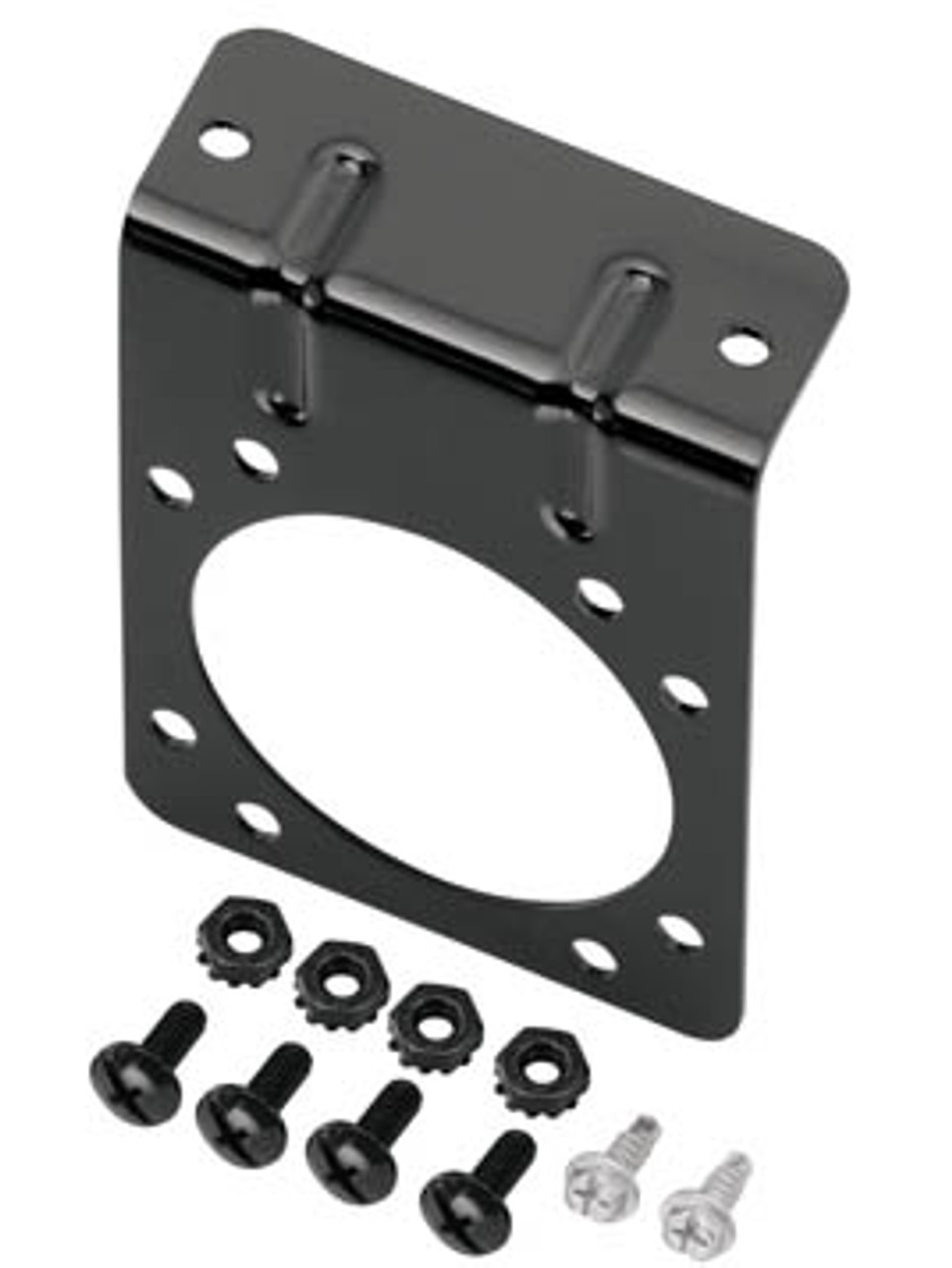 118138 --- Mounting Bracket for Standard 7-Way RV Round Connectors