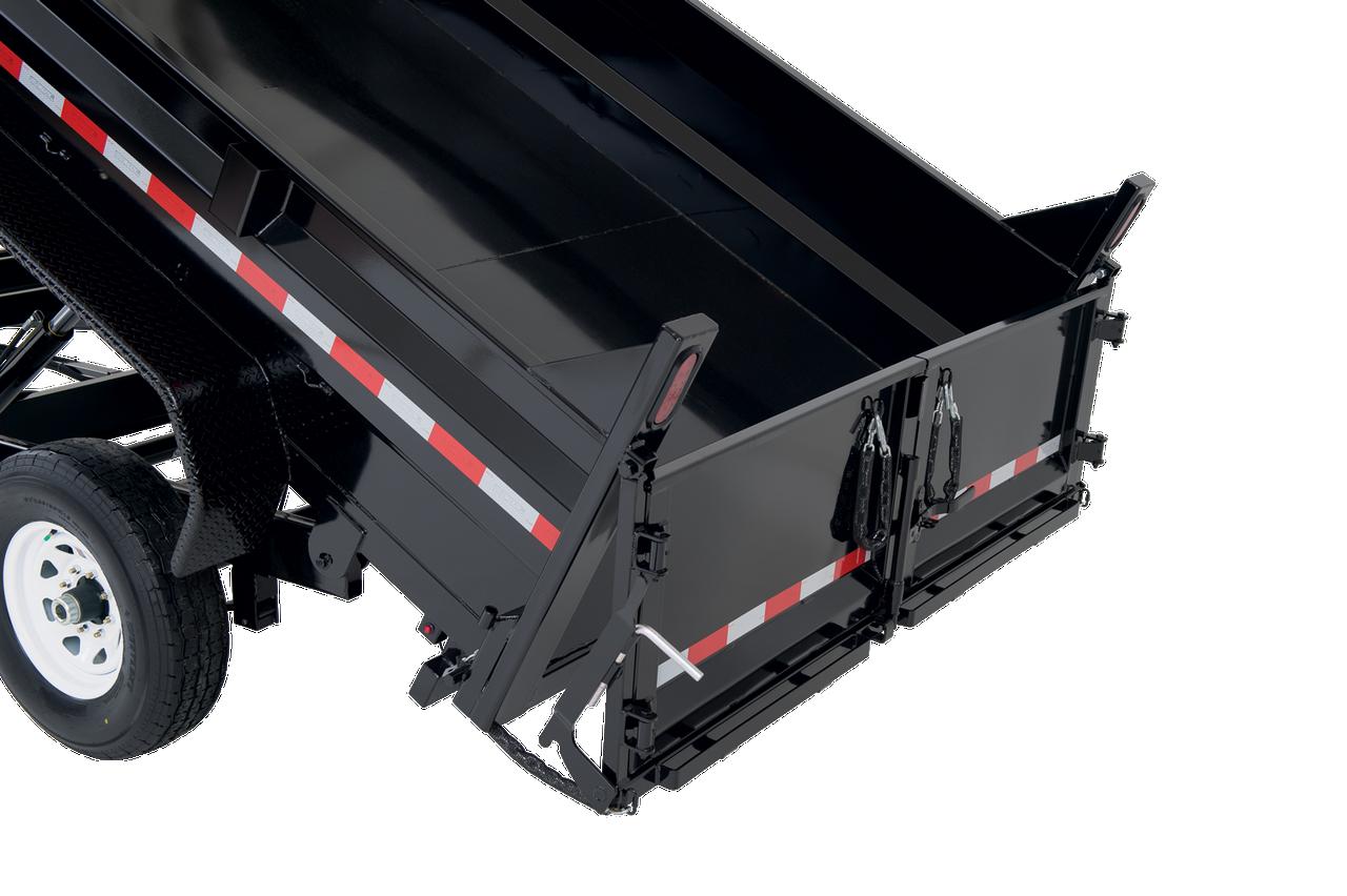 """STD8012TA4 --- 82"""" x 12' Dump Trailer"""