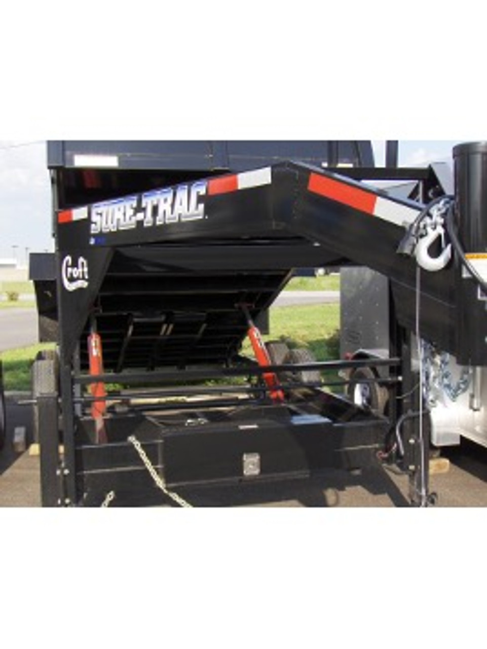 "STGD8016TA5 --- 82"" x 16' Gooseneck Dump Trailer"