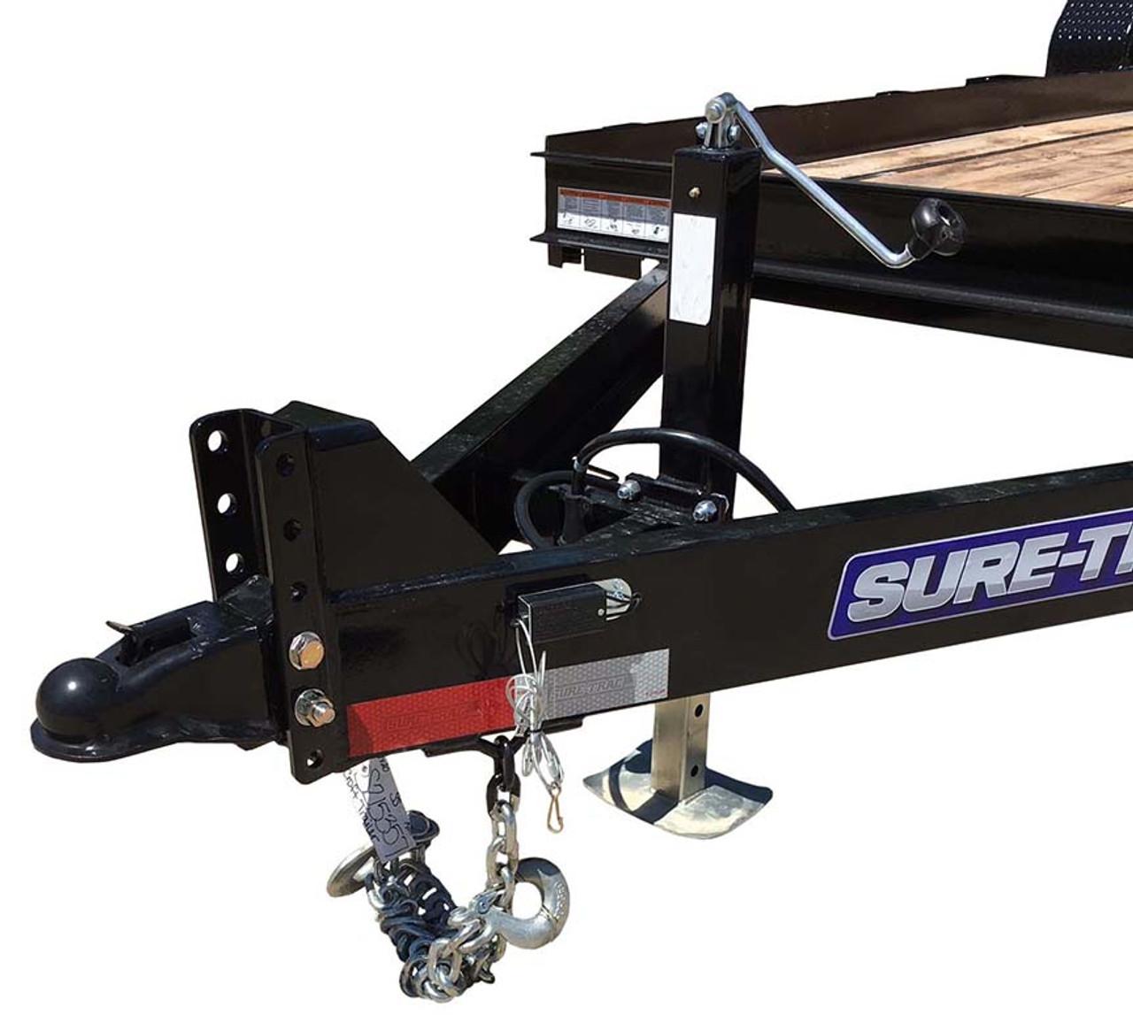 "STSK8016TA5 --- 79"" x 16' Low Profile Skid Steer Trailer"